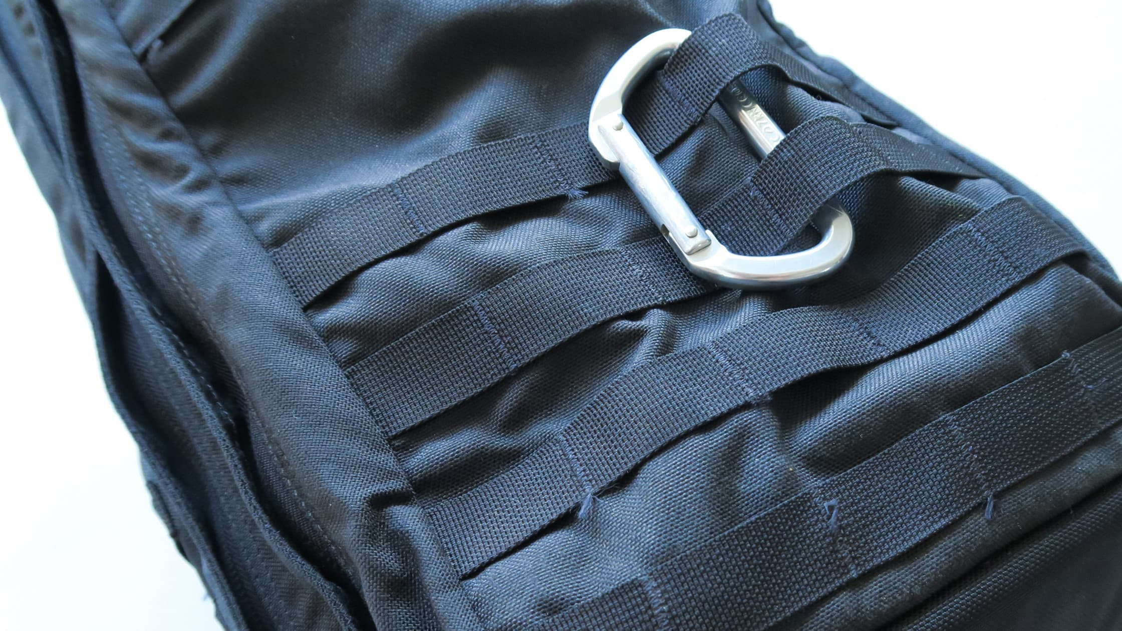 MOLLE on the back of the GORUCK GR2
