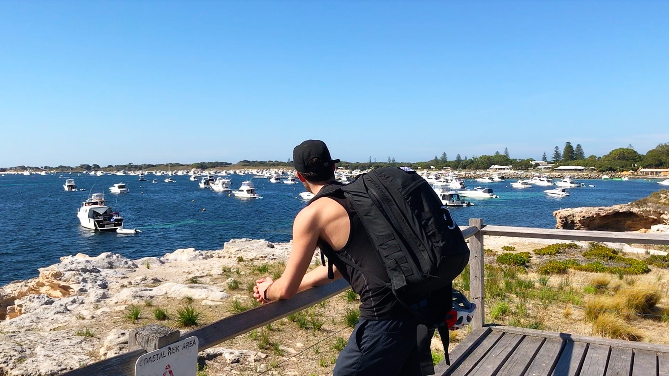 Testing the GORUCK GR2 on Rottnest Island, Perth, Australia