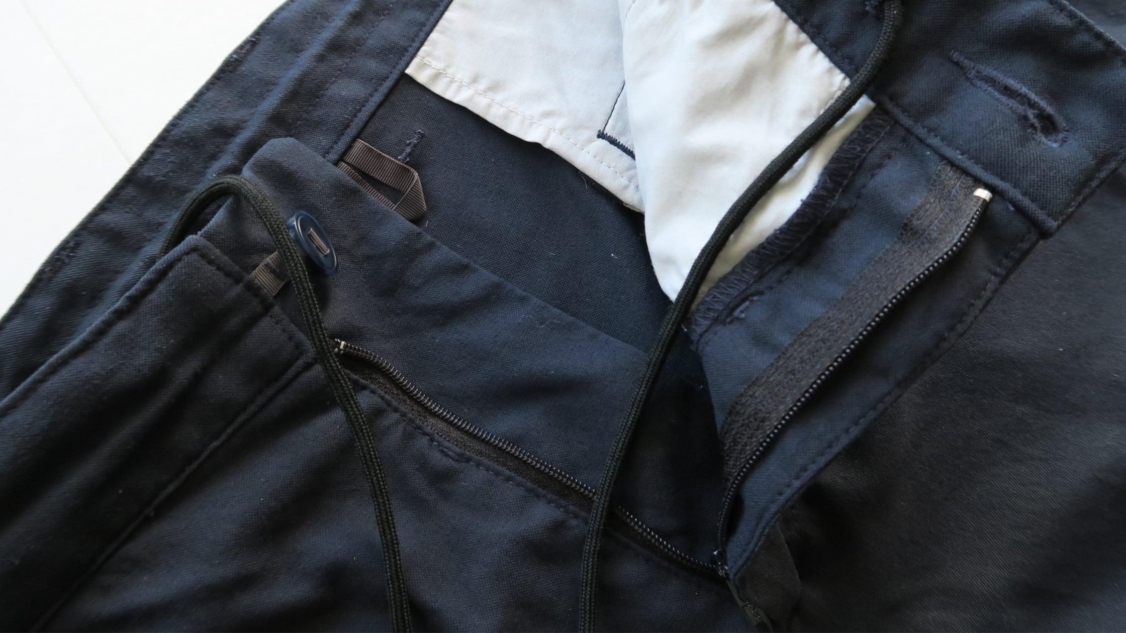 New Way Shorts drawstring and hanger loop