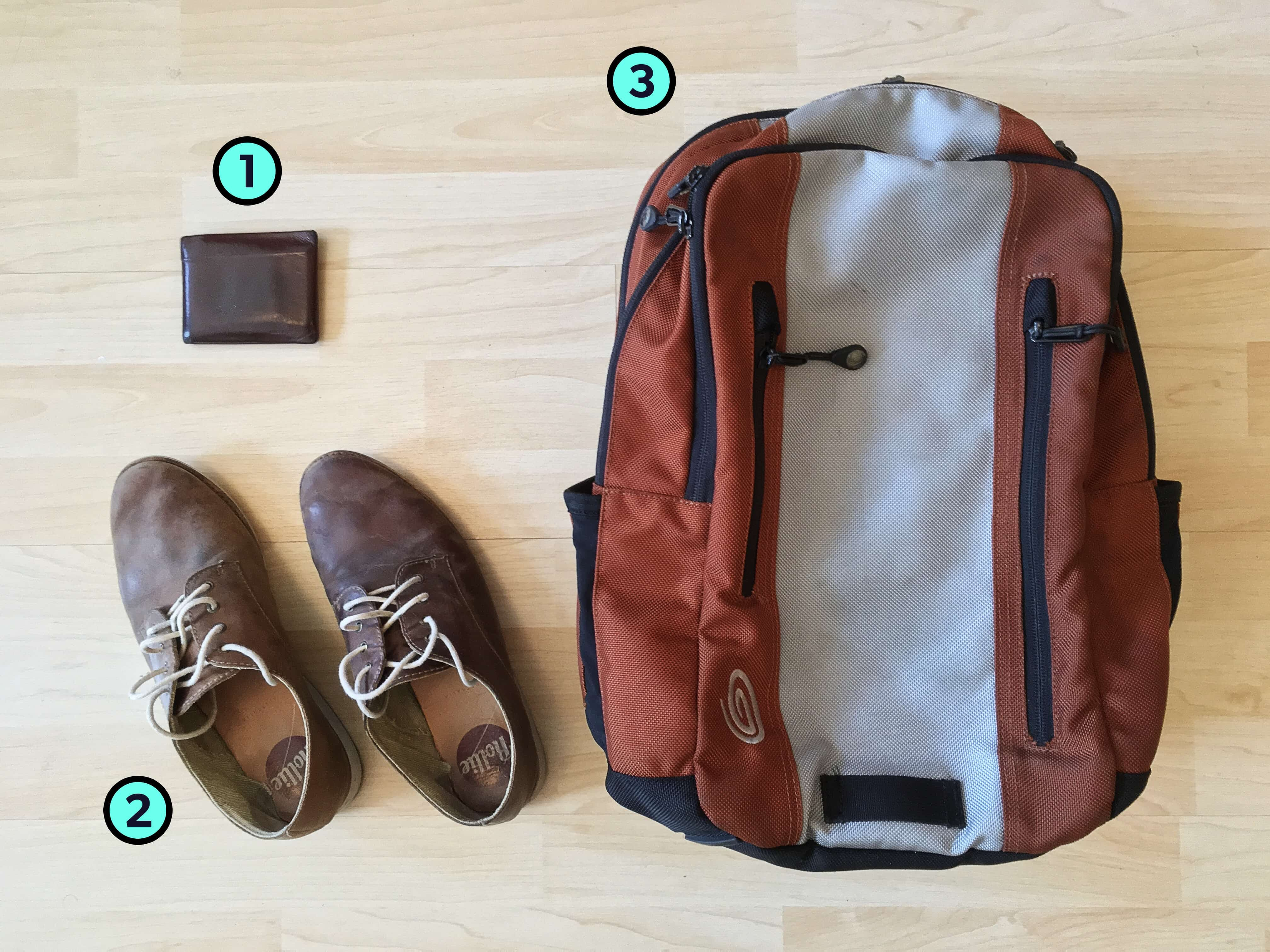 Sasha Tsimbler's Trusty Three Travel Items