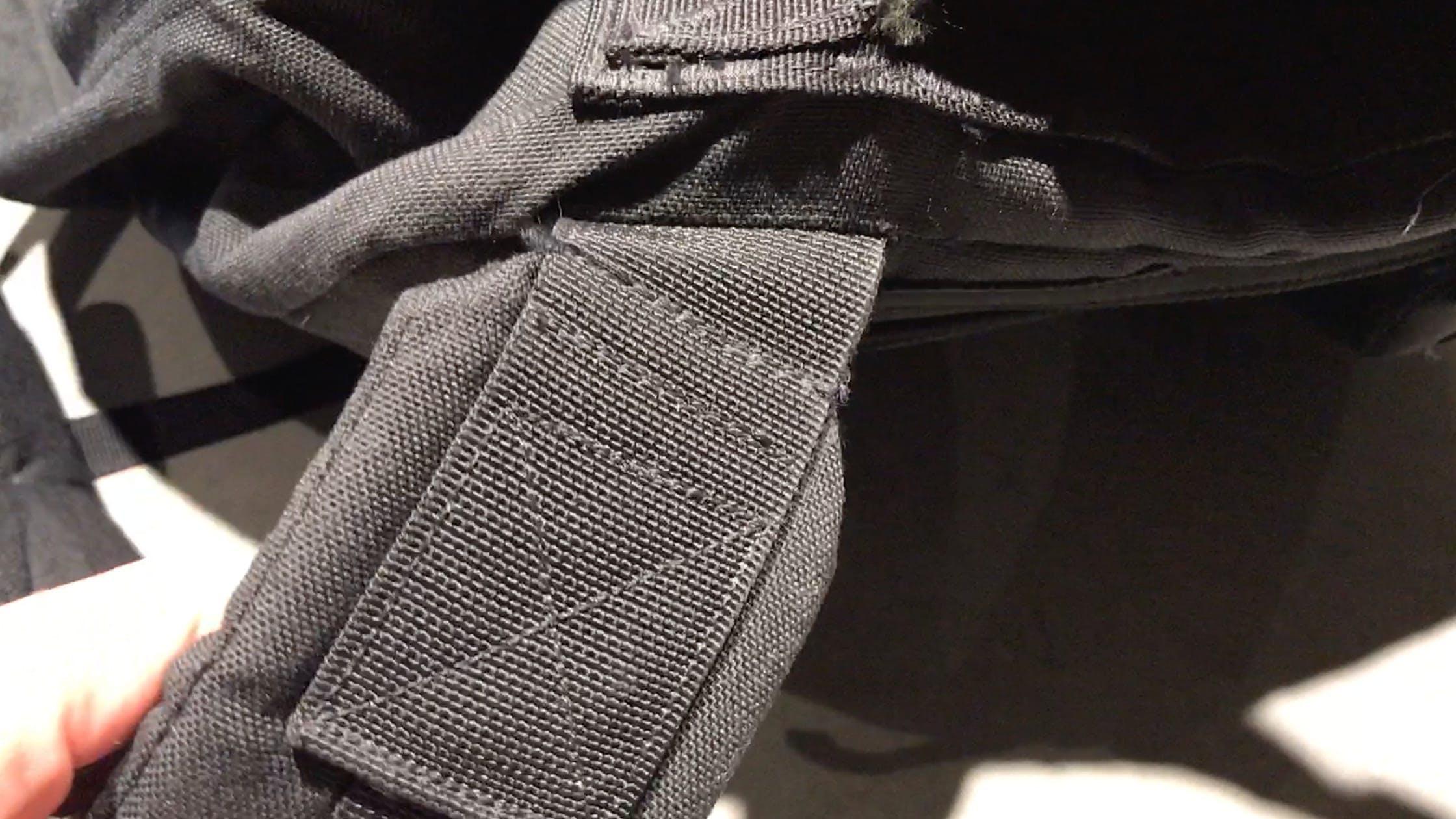 Shoulder Straps on the GORUCK GR2