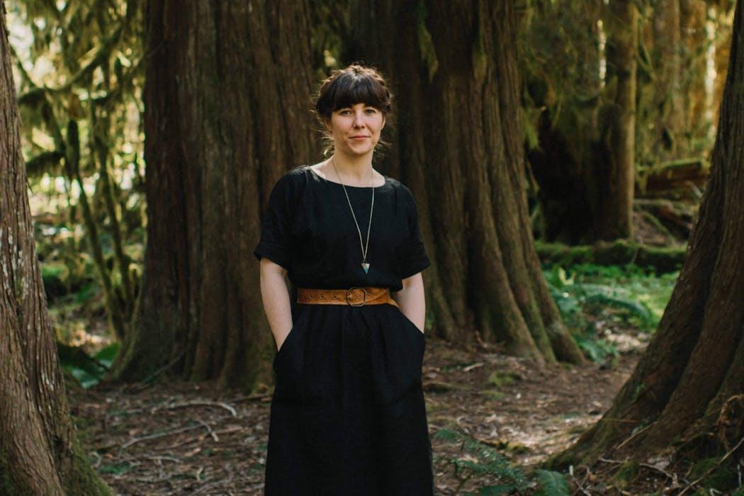 Frances Beatty in Squamish, BC. Shot by Tara Lilly Photography.