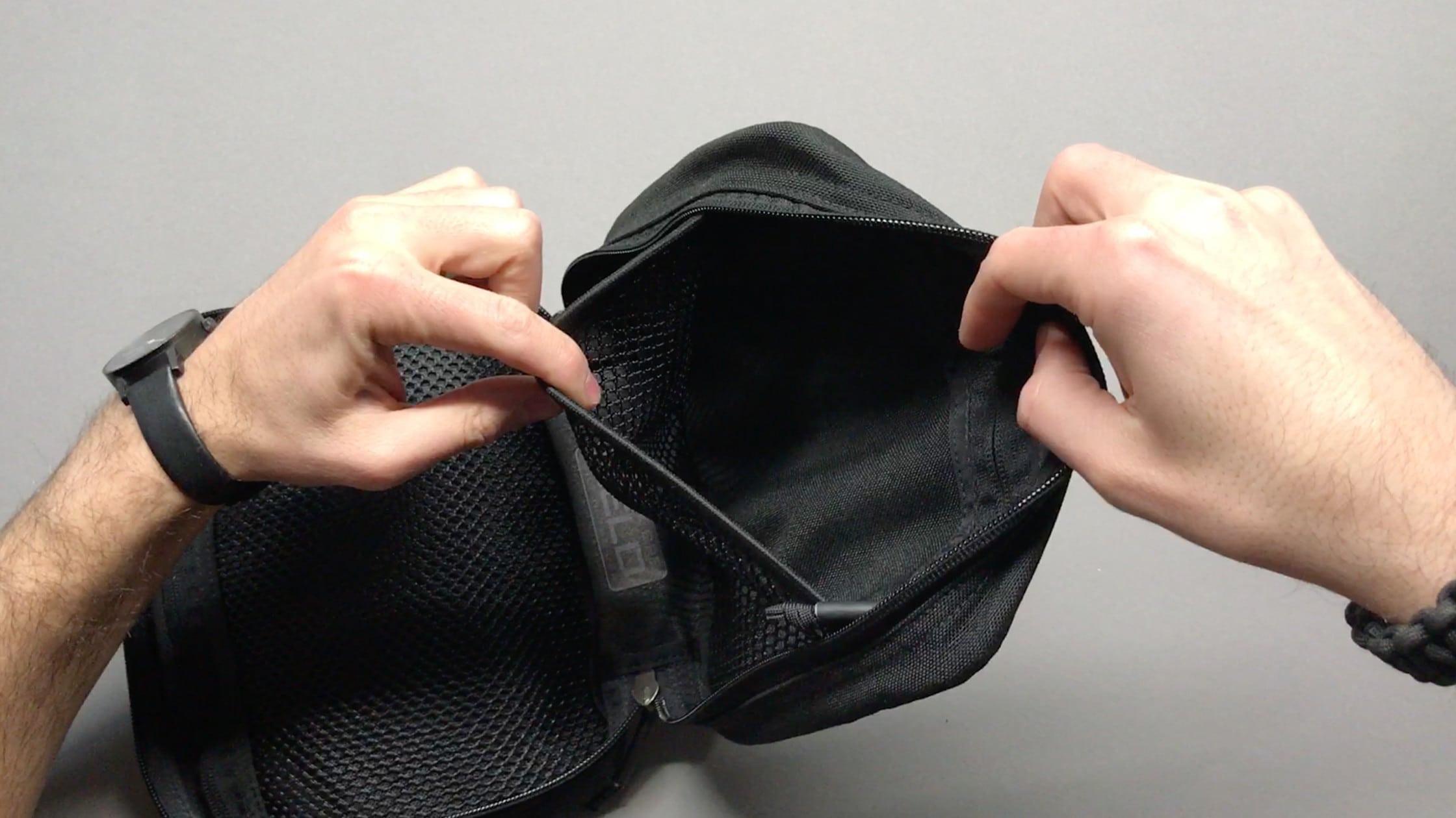 Mesh Elastic Band Pocket