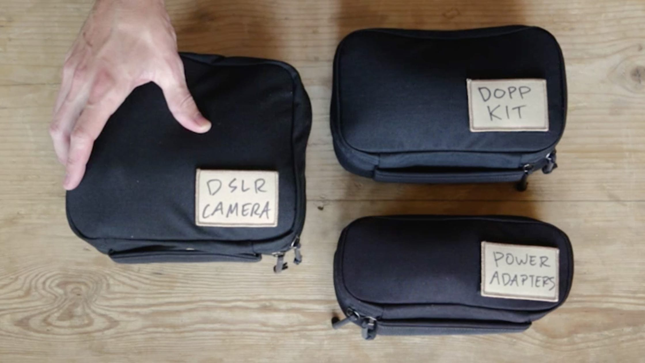 Patch Label System | Image from goruck.com