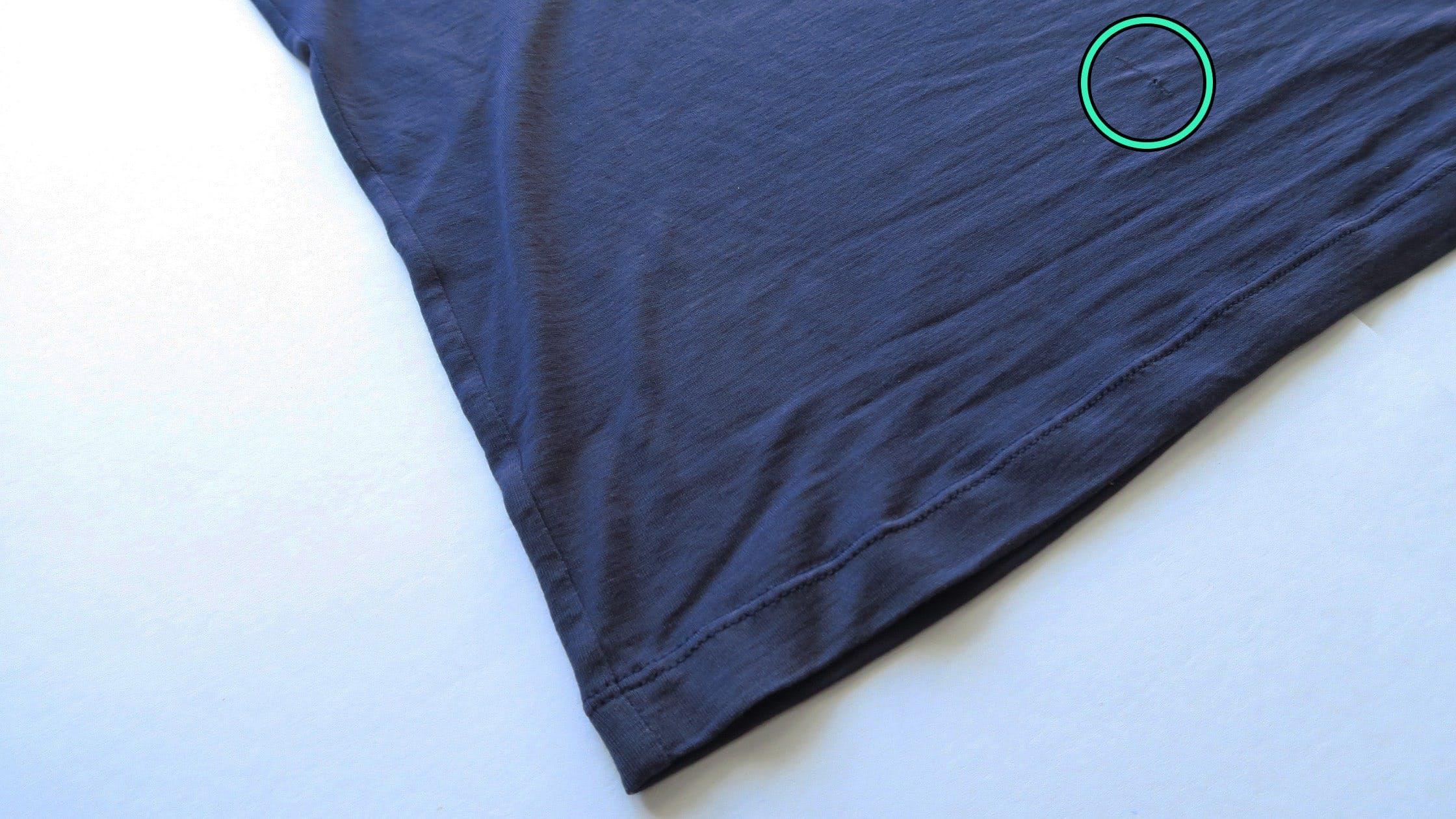 Outlier Ultrafine Merino T-Shirt Belt Hole