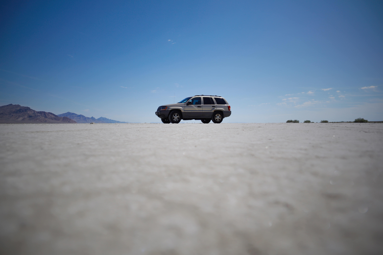 Phil Oliver's 2000 Jeep Grand Cherokee, Bonneville Salt Flats, Utah