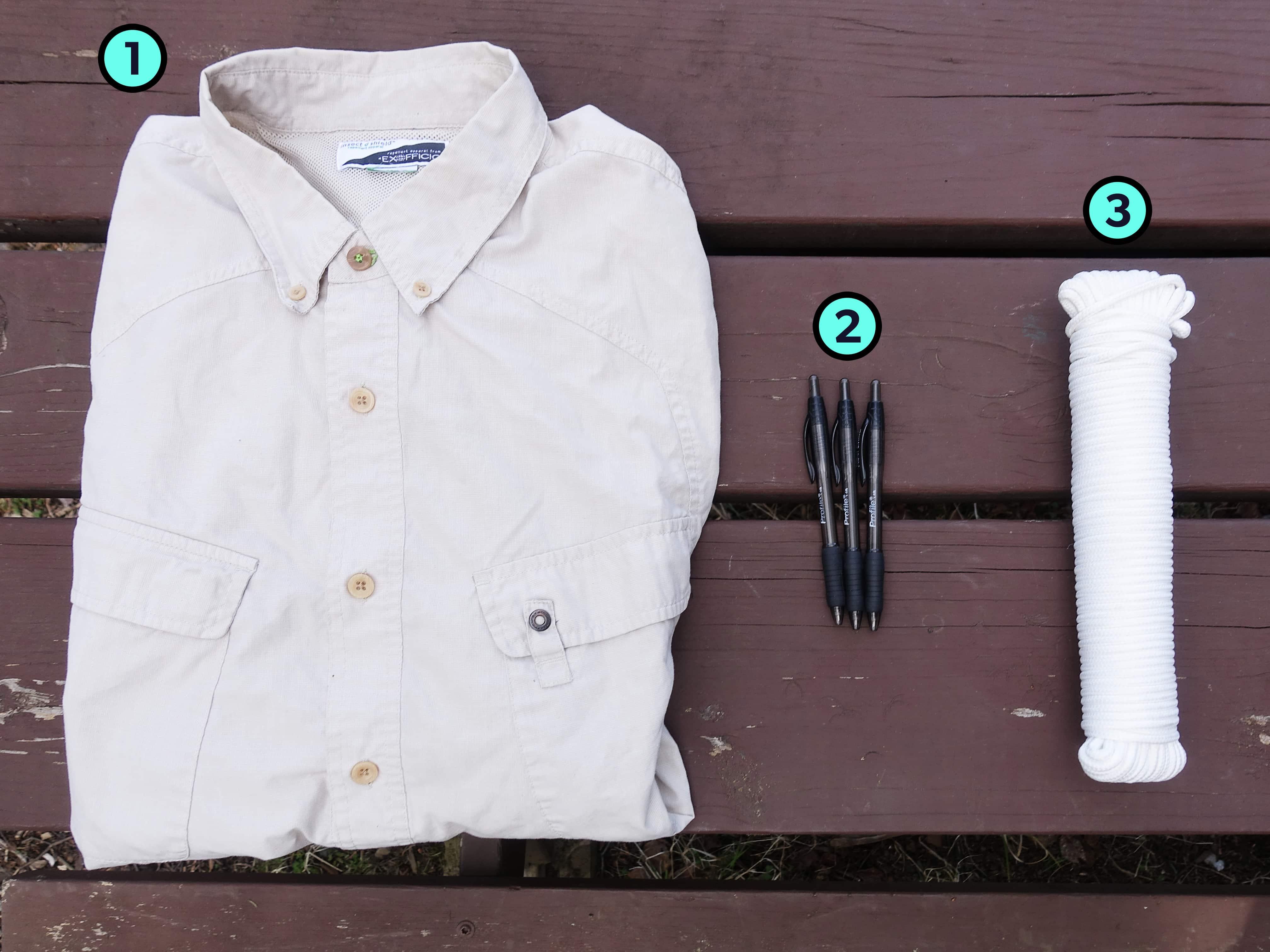 John's Trusty Three Travel Gear Items