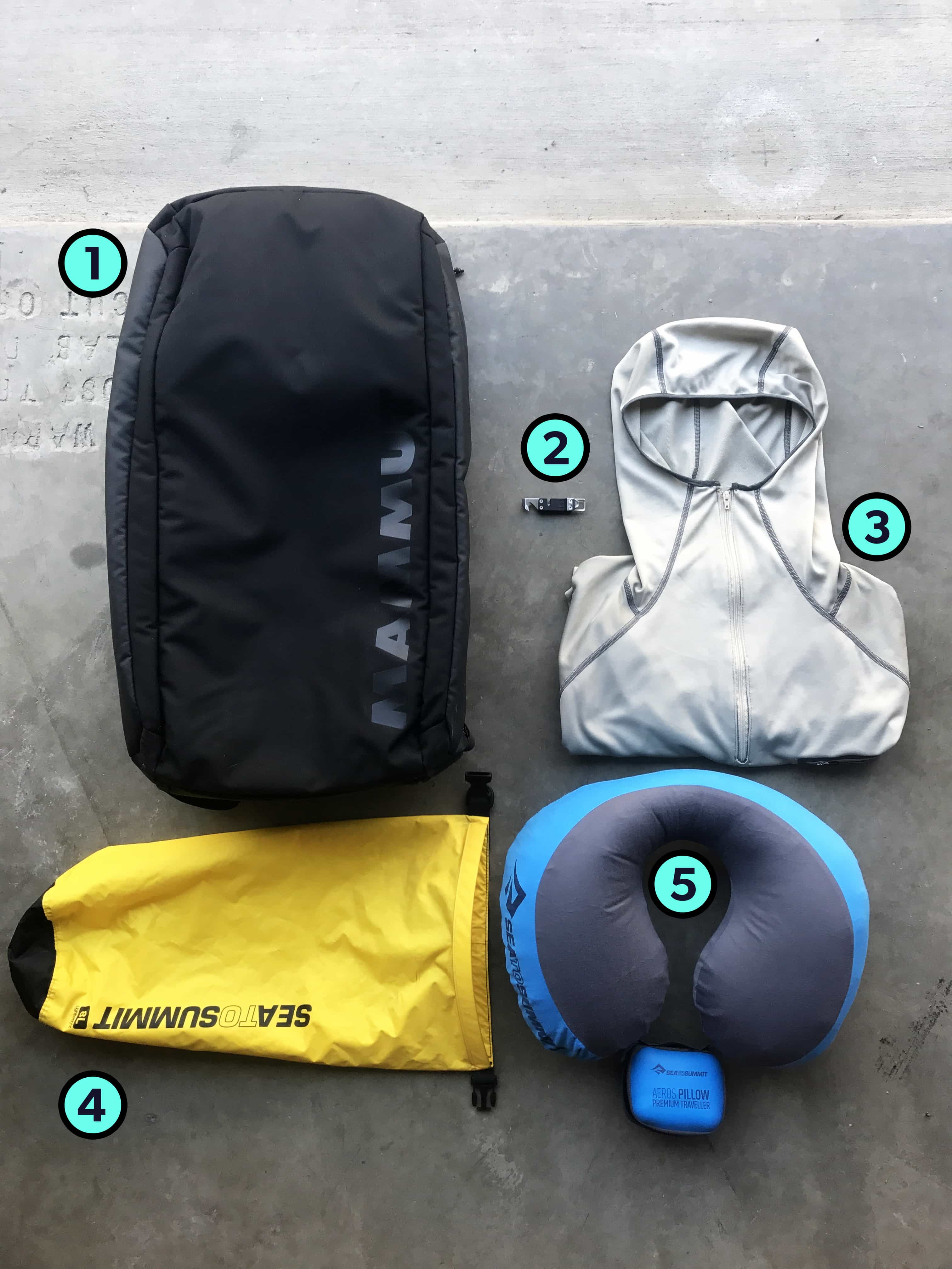 Phil Oliver's Trusty Three Travel Gear Items