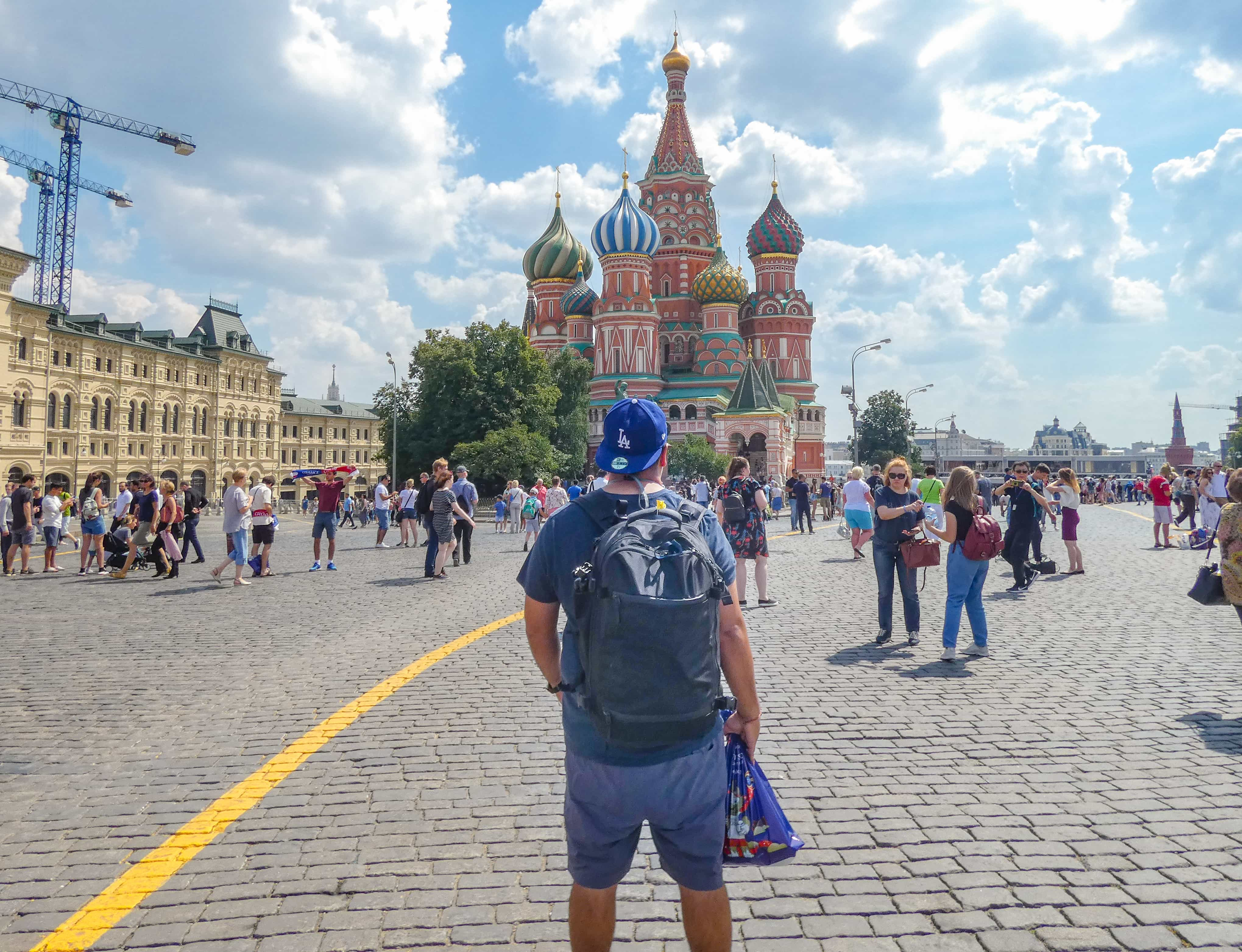 Testing the Aer Travel Pack in Russia