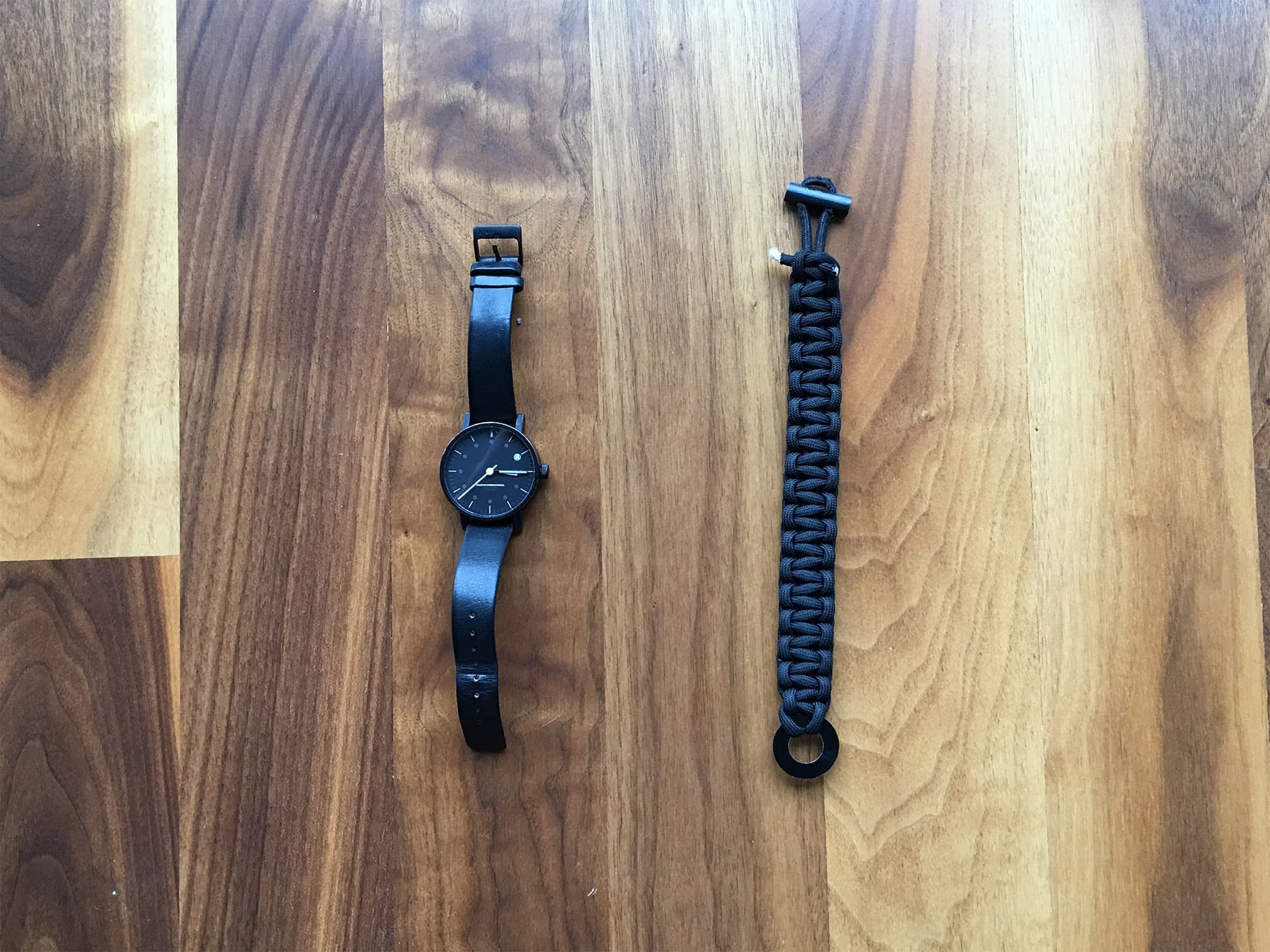 Void Watch | Bomber Paracord Bracelet