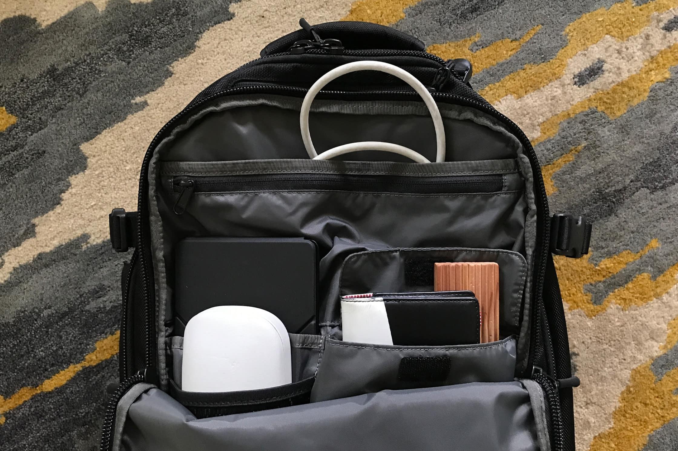 Aer Travel Pack Front Pocket
