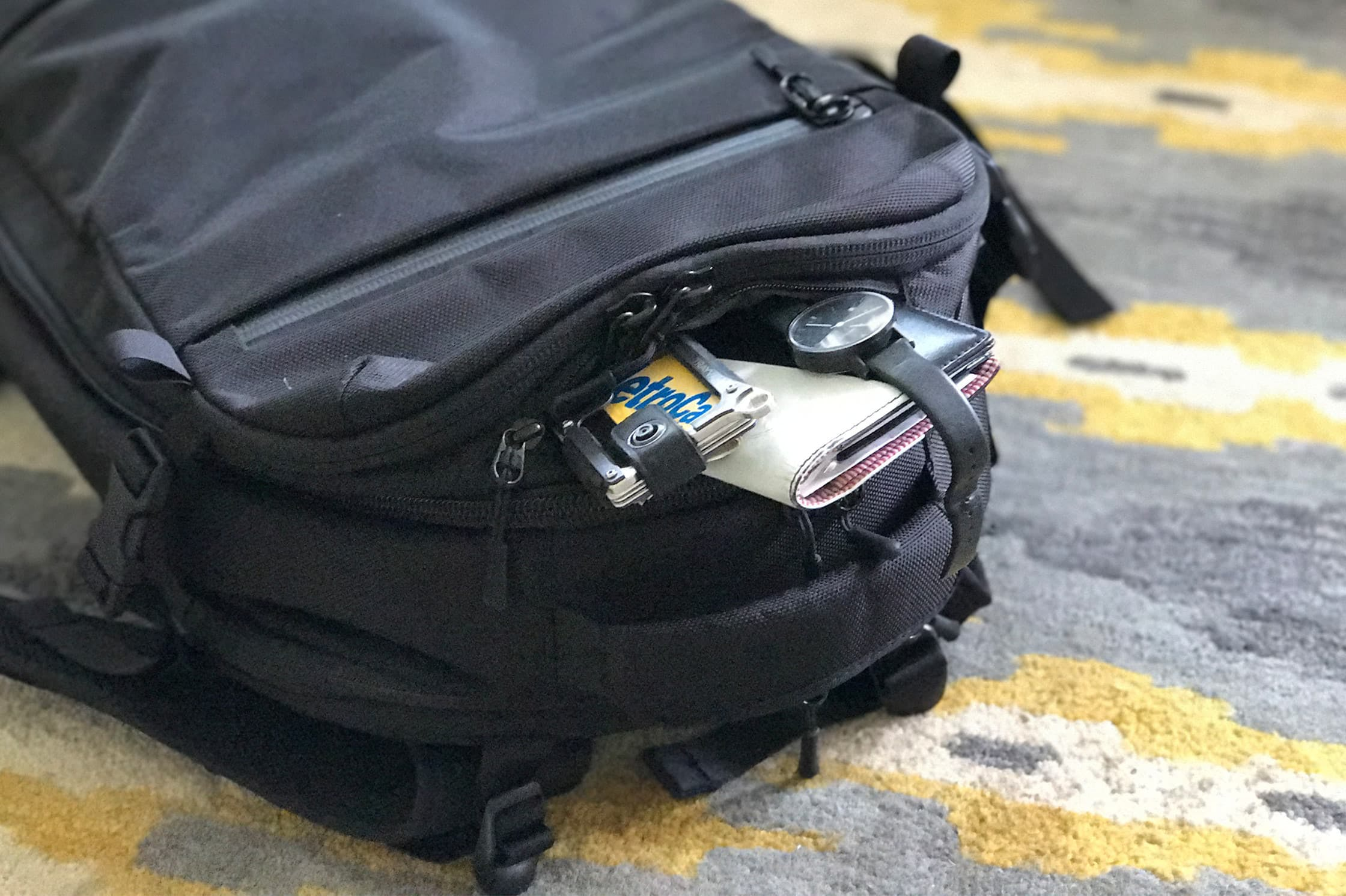Aer Travel Pack Padded Top Pocket