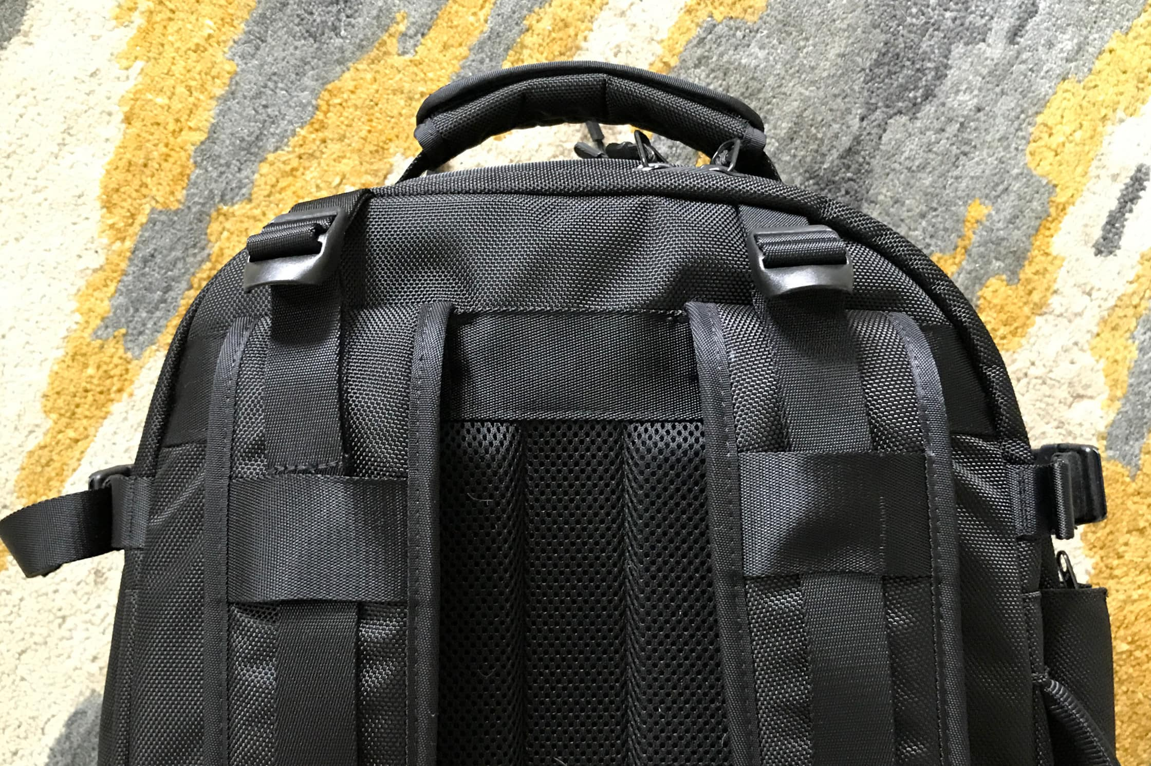 Aer Travel Pack Top Strap Adjustment