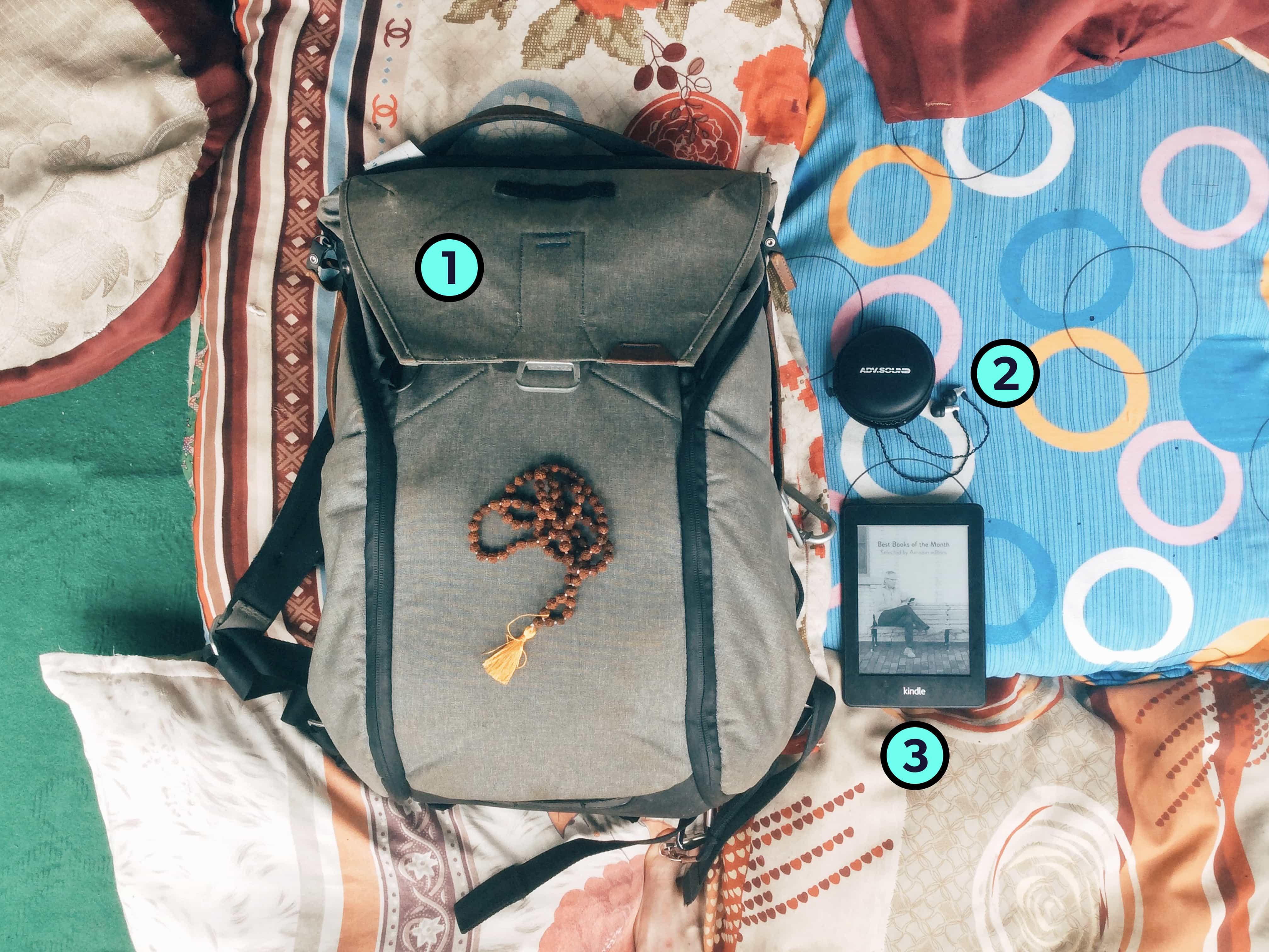 Jon Massmann's Trusty Three Travel Items
