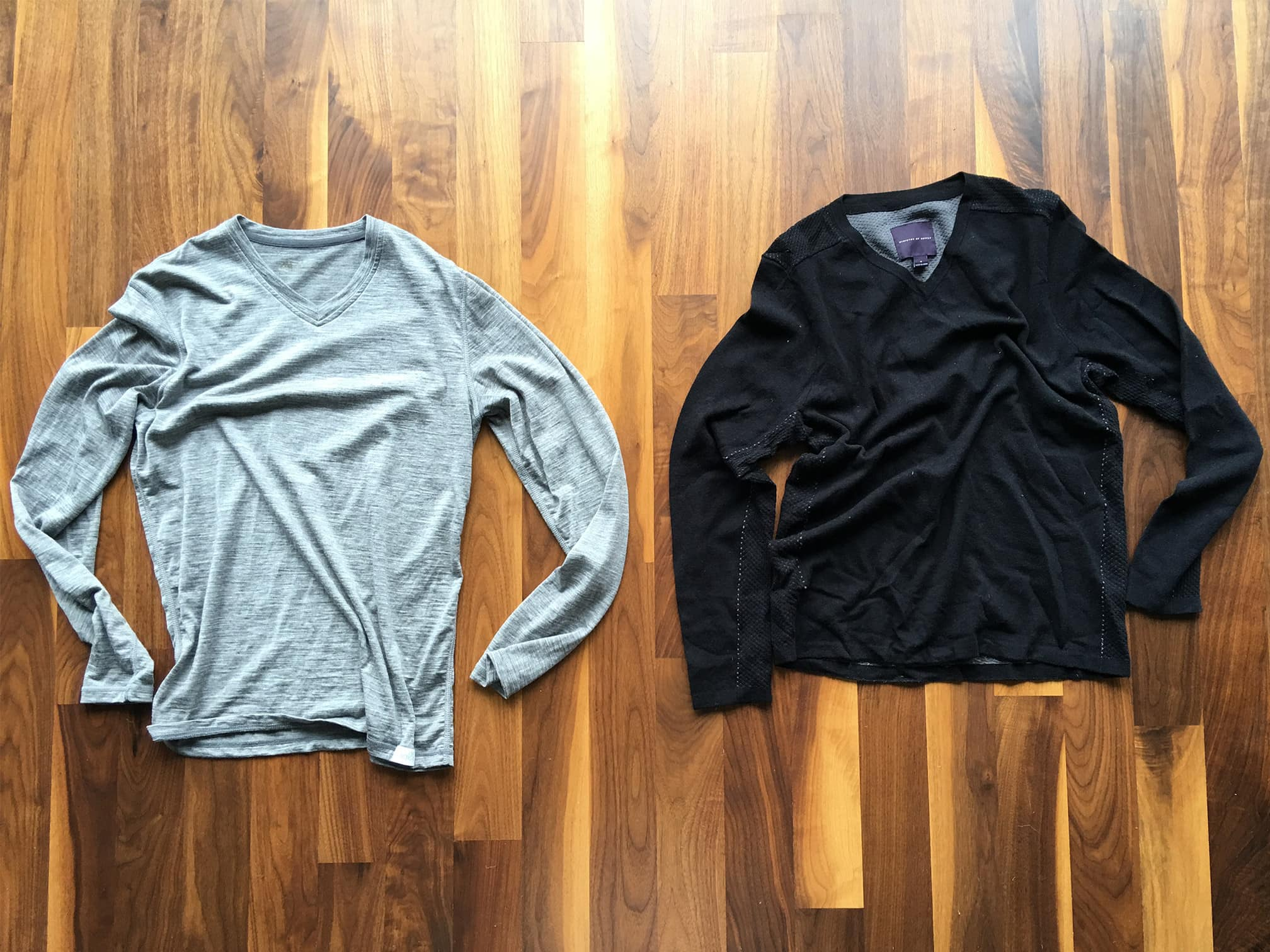 Woolly Long Sleeve V-Neck | Ministry of Supply Mercury Sweater