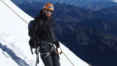 Tiago Almeida Climbing a Mountain in El Alto, Bolivia