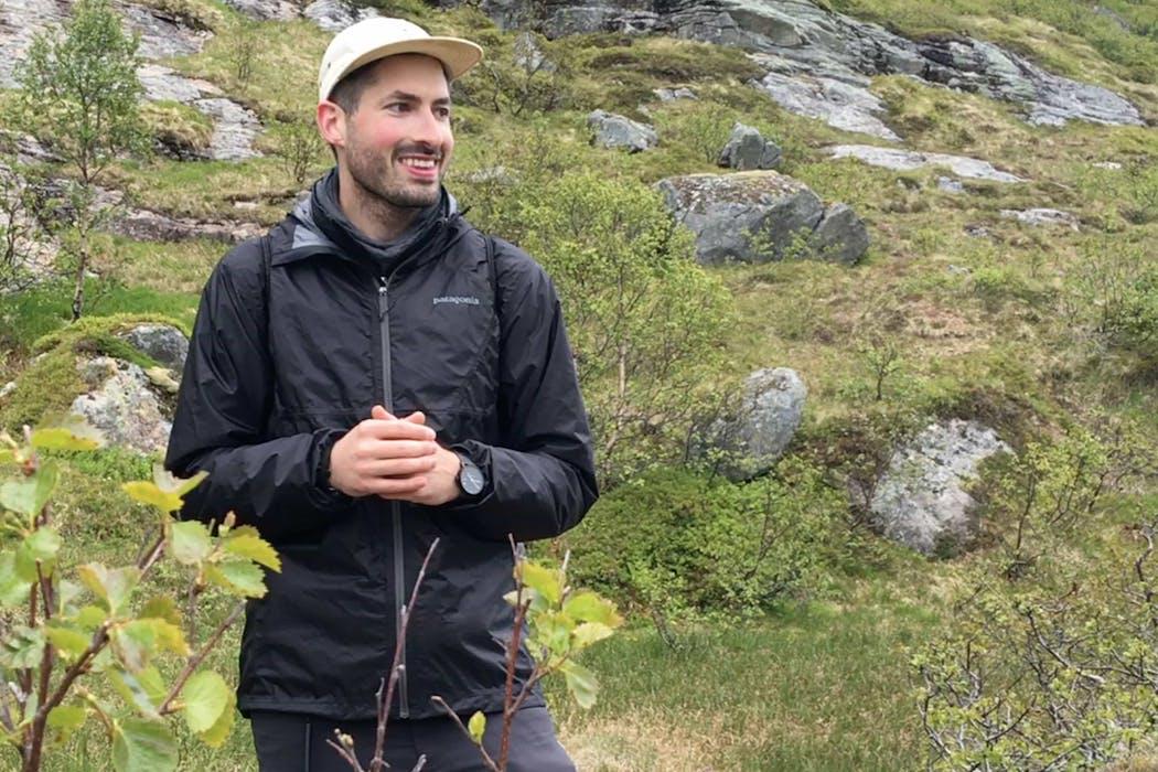 Tom in Lofoten,Norway