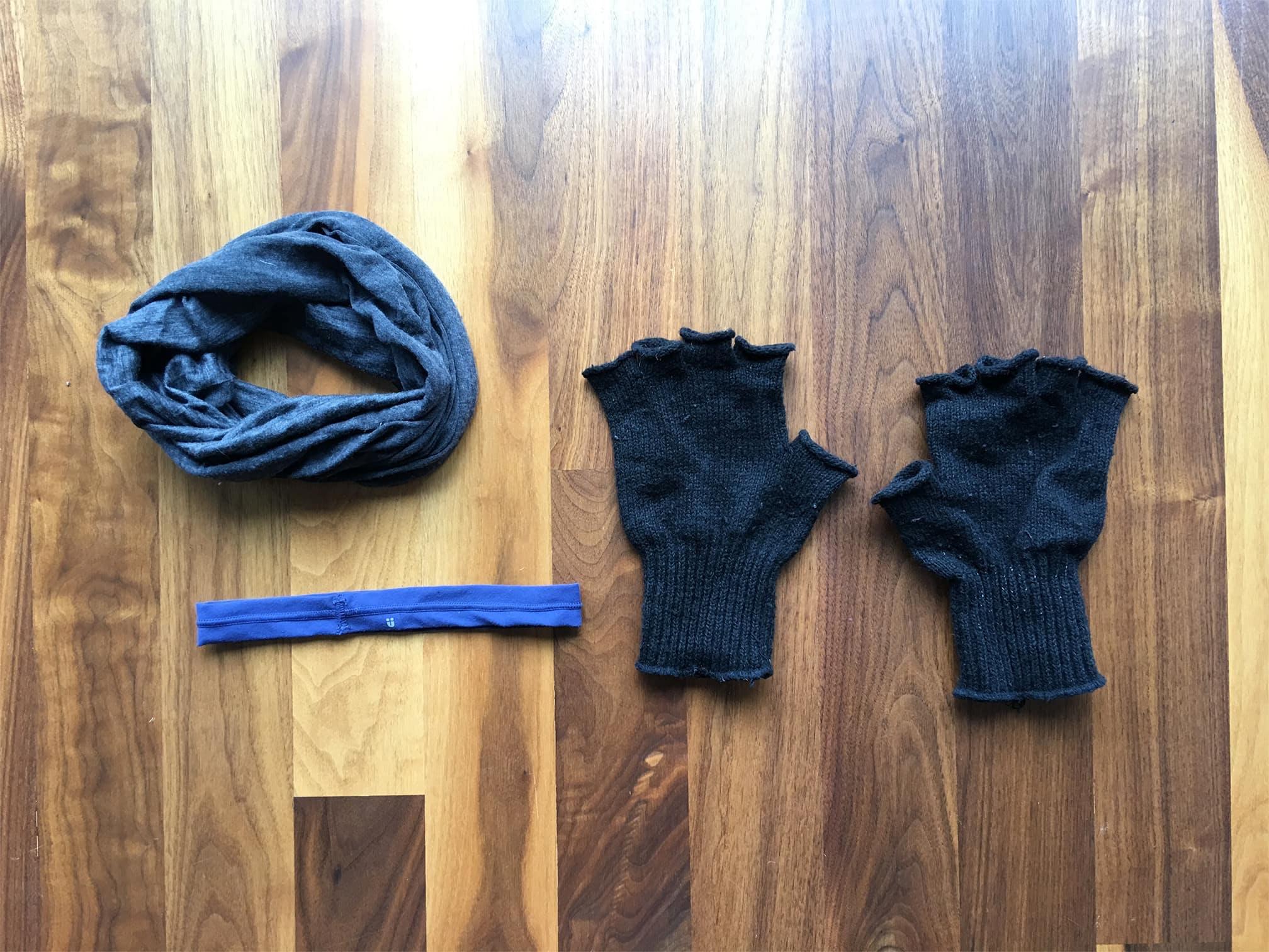 Wool Buff | Headband | Wool Gloves