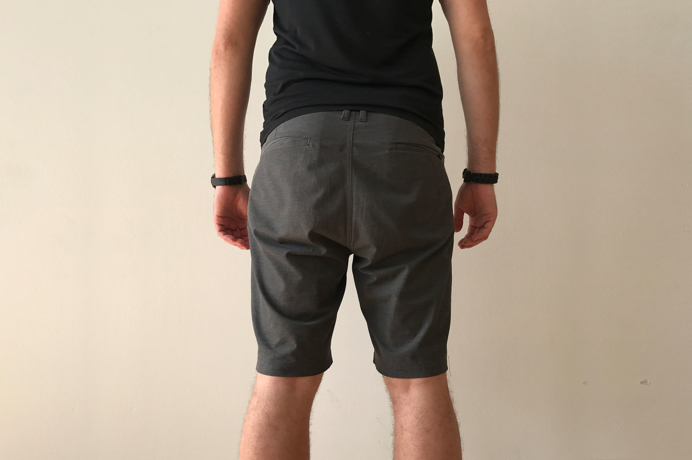 Back of the Billabong Crossfire X Submersible Short