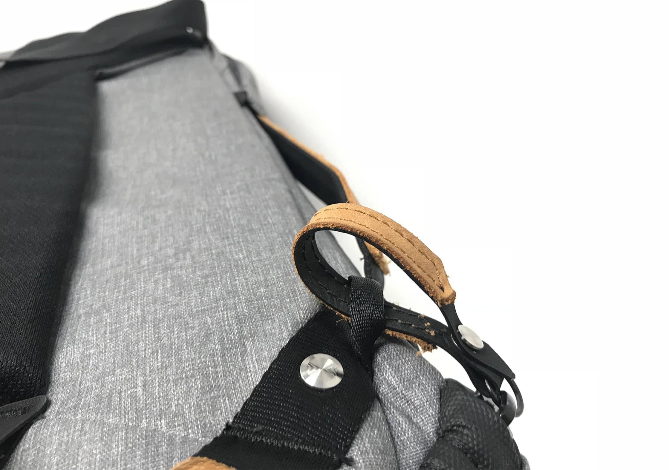 Peak Design Everyday Backpack zipper locks.