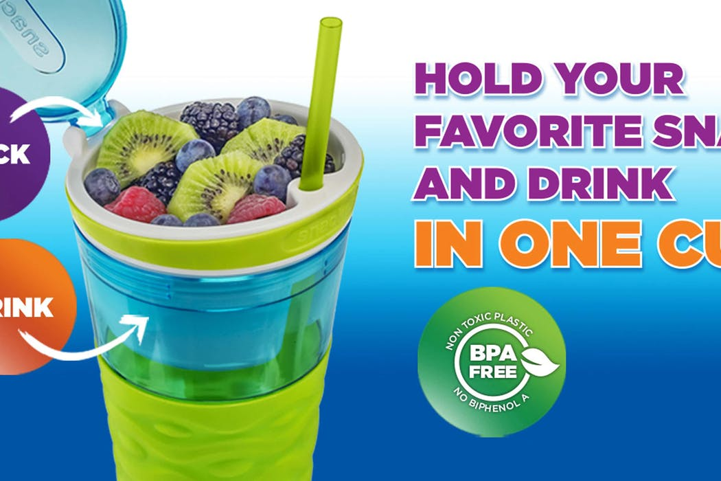 Snackeez Snack and Drink Cup