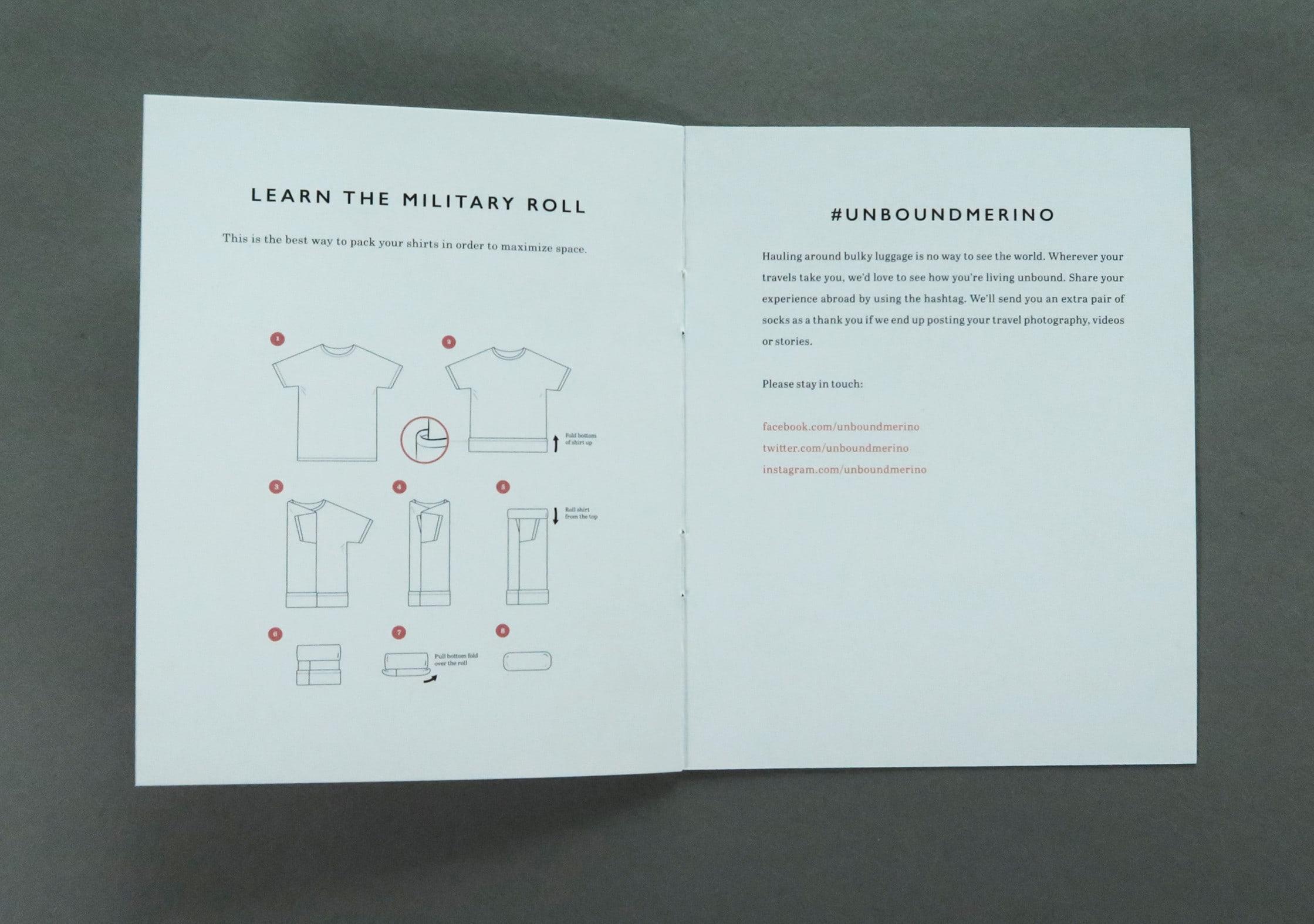 Unbound Merino Instruction Booklet