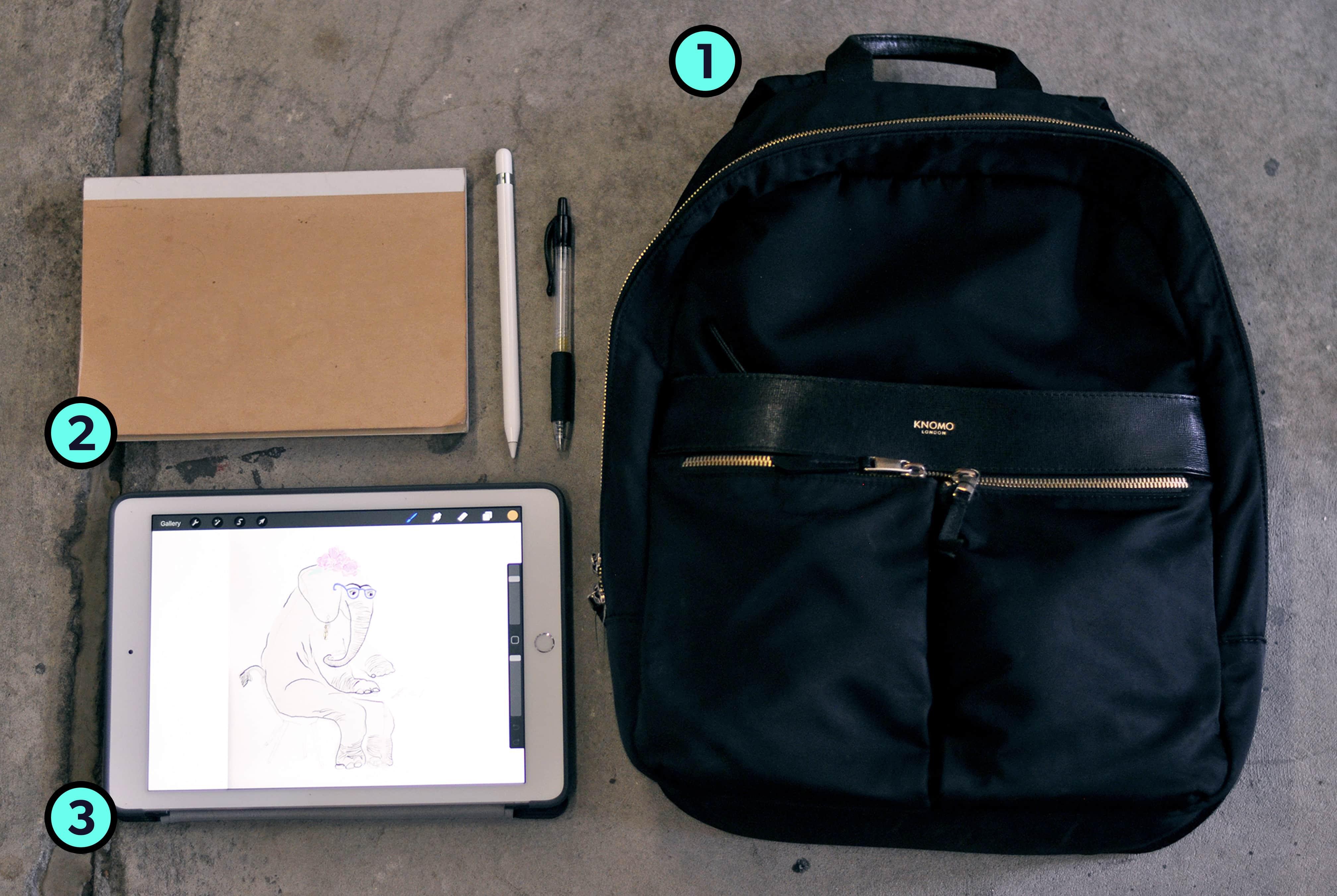 Roxanne Ravago's Trusty Three Travel Items