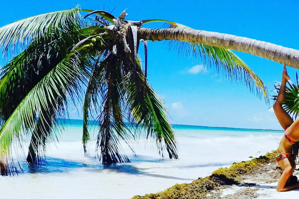 Roxanne Ravago in Tulum, Quintana Roo, Mexico