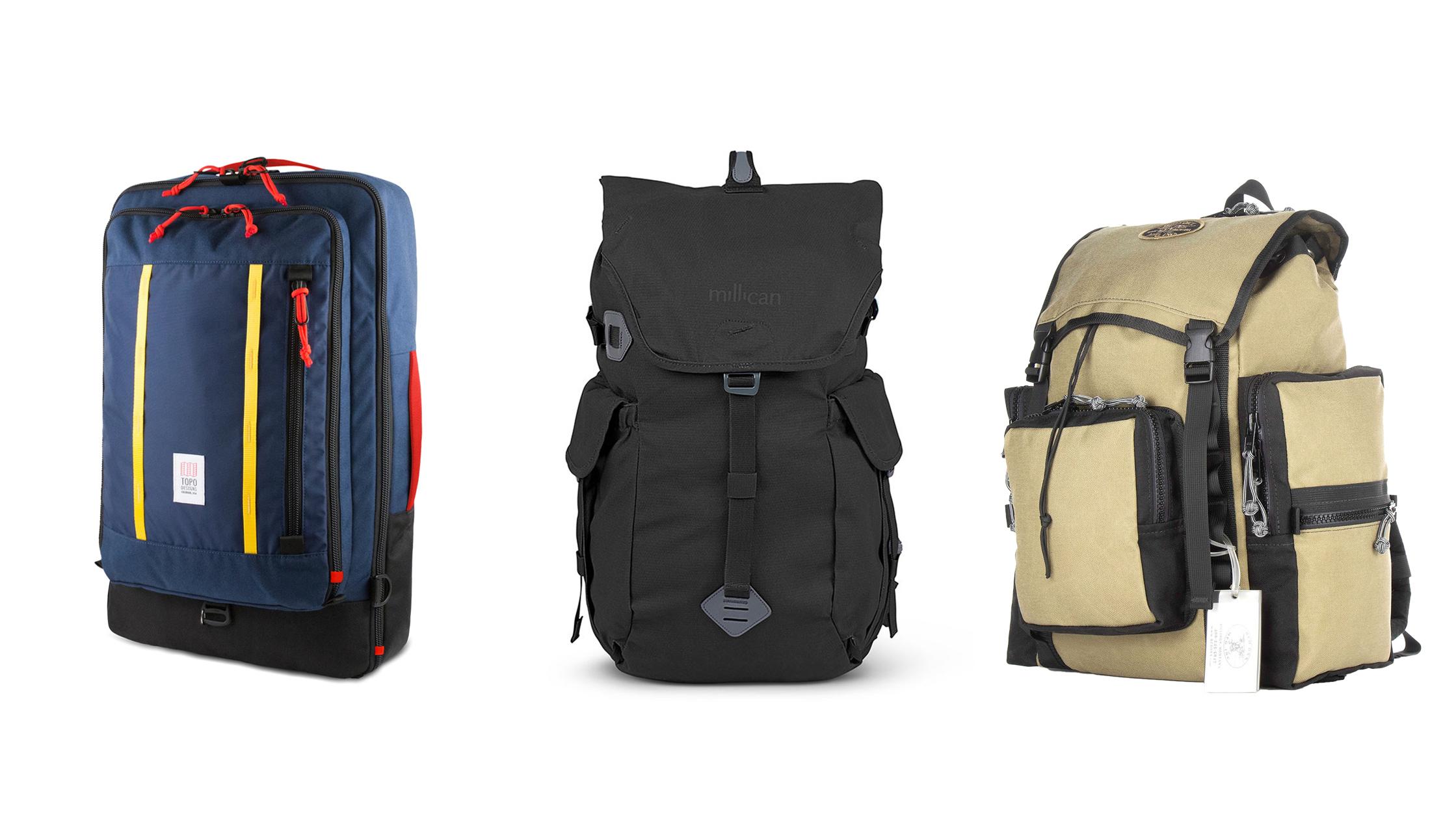 heritage travel backpacks