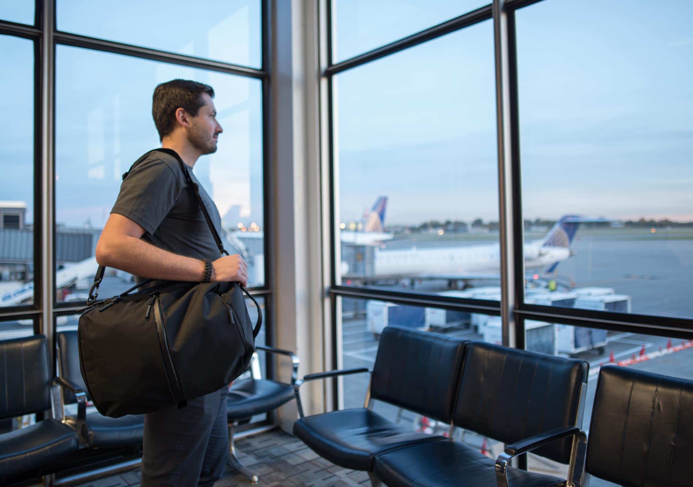 Aer Flight Pack As A Messenger Bag