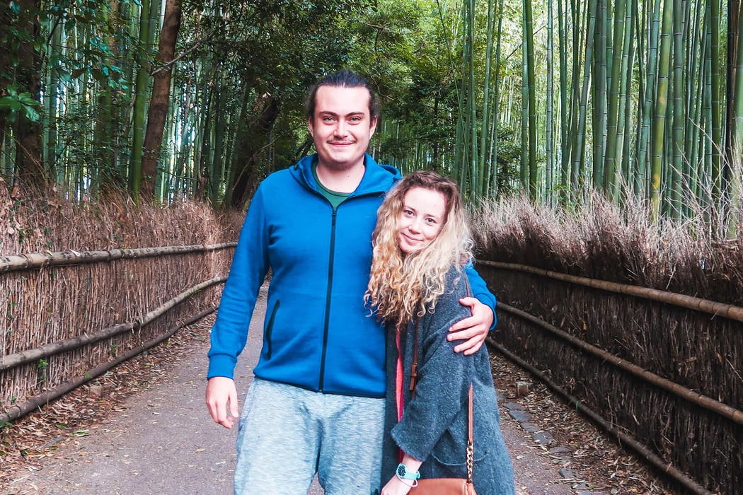 Rebecca & Nathan of Always A Friday | Arashiyama Bamboo Forest, Kyoto, Japan