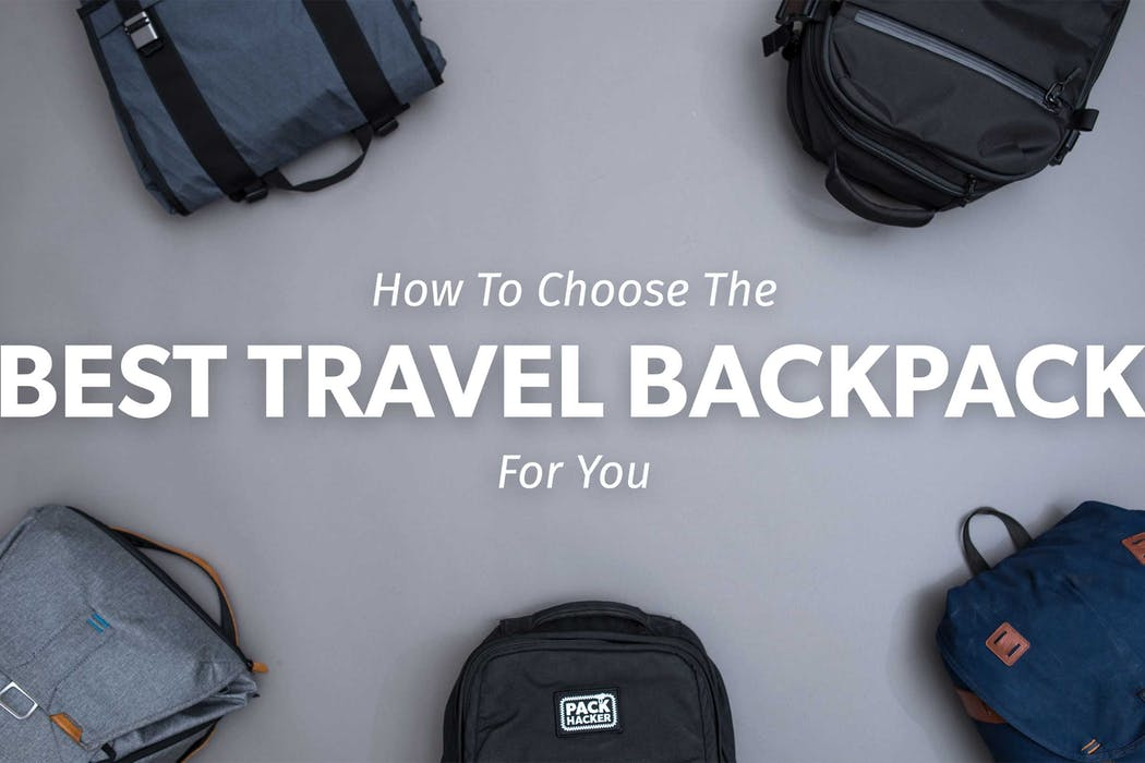 How to choose the best carry-on travel backpack for you