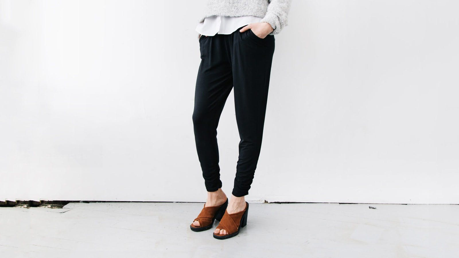 Encircled Dressy Sweatpant