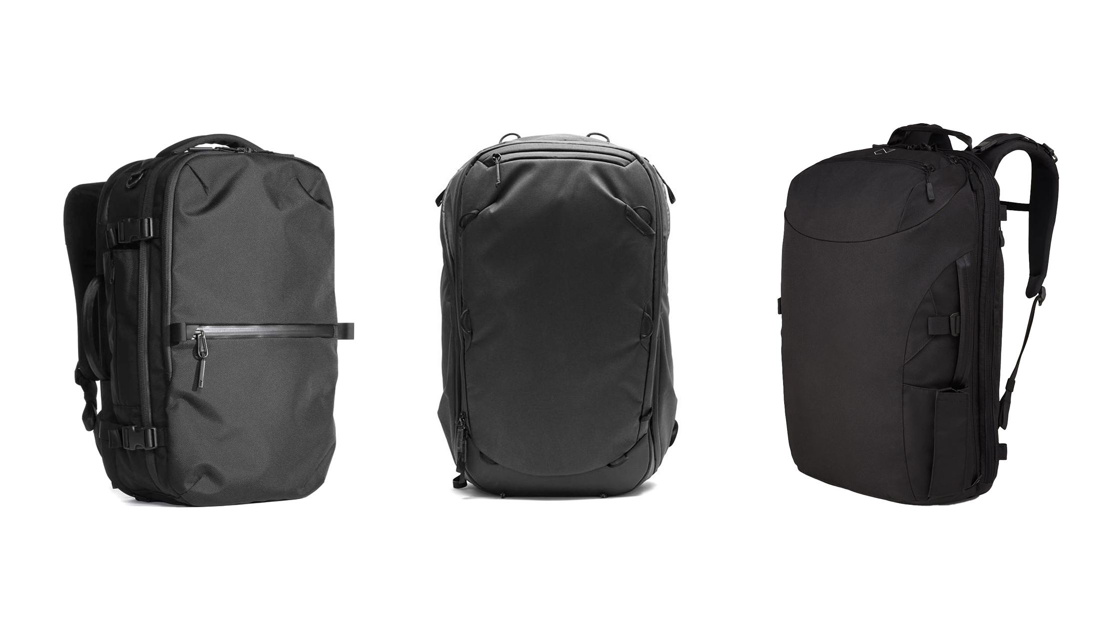minimalist travel backpacks