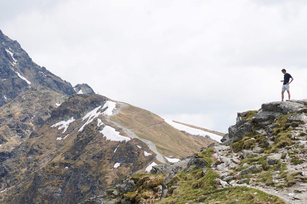 Matthew Hayto in the Polish High Tatra Mountains