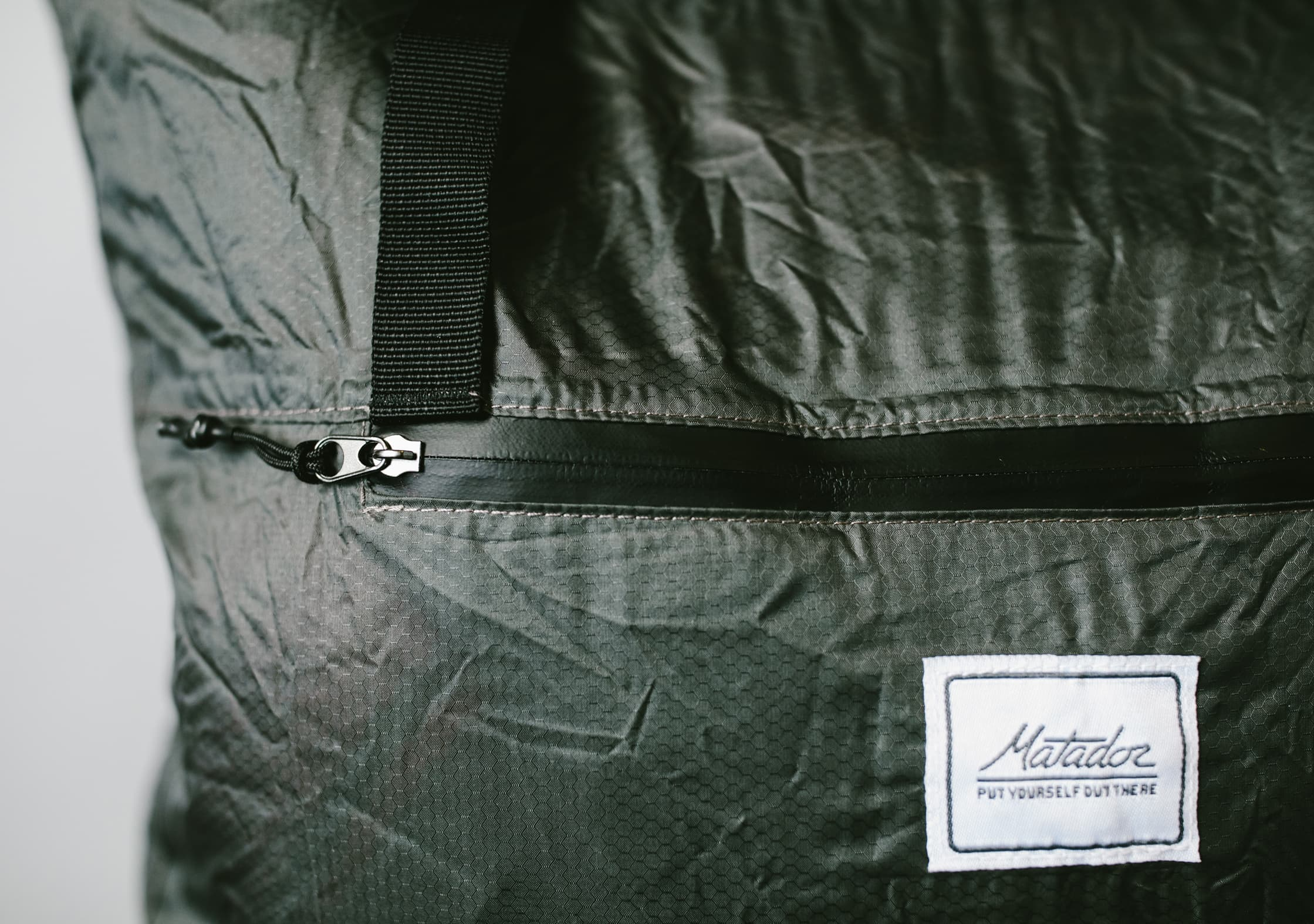 Matador Transit Tote Bag Water Resistant Zipper