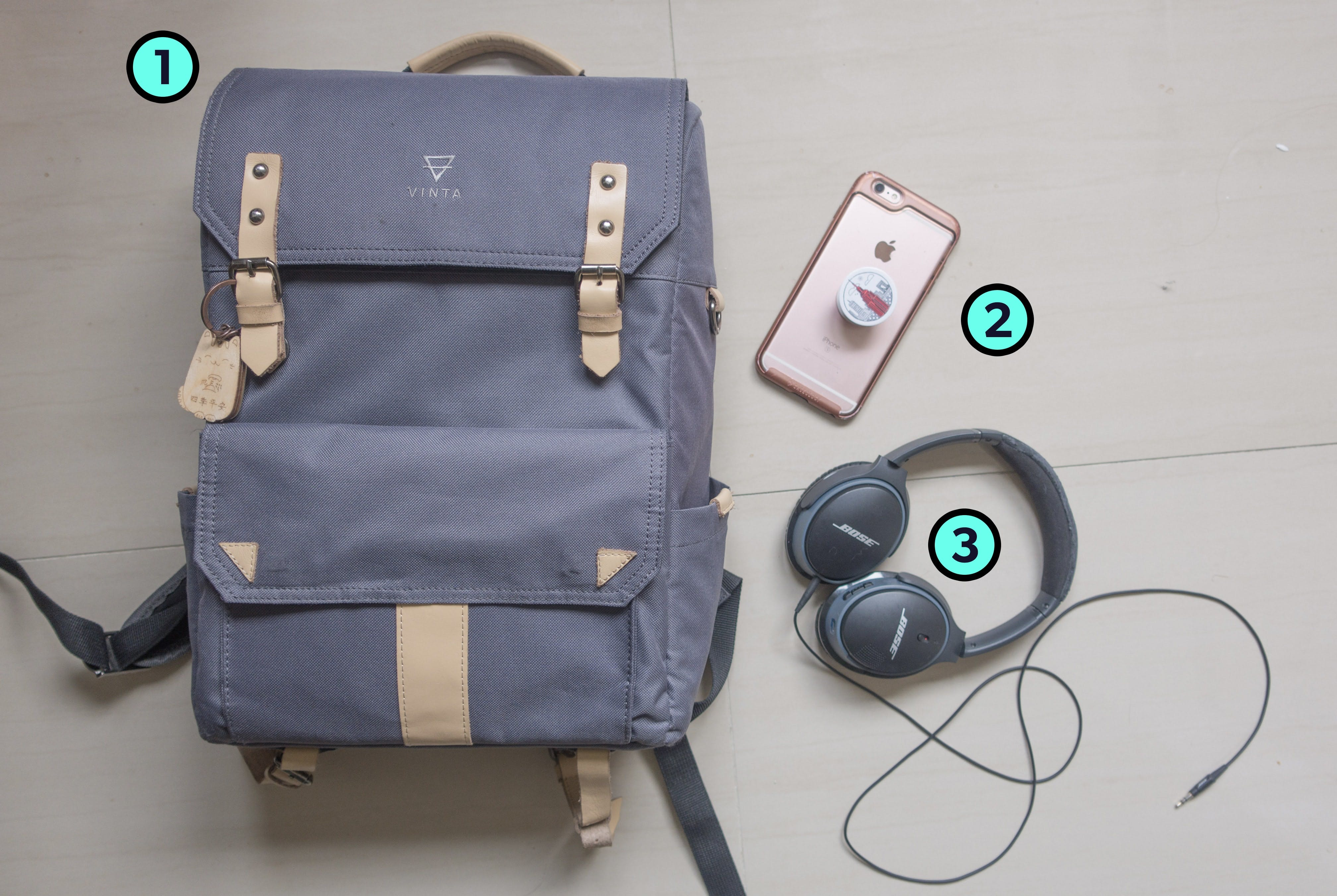 TJ Lee (CupofTJ) Trusty Three Travel Items