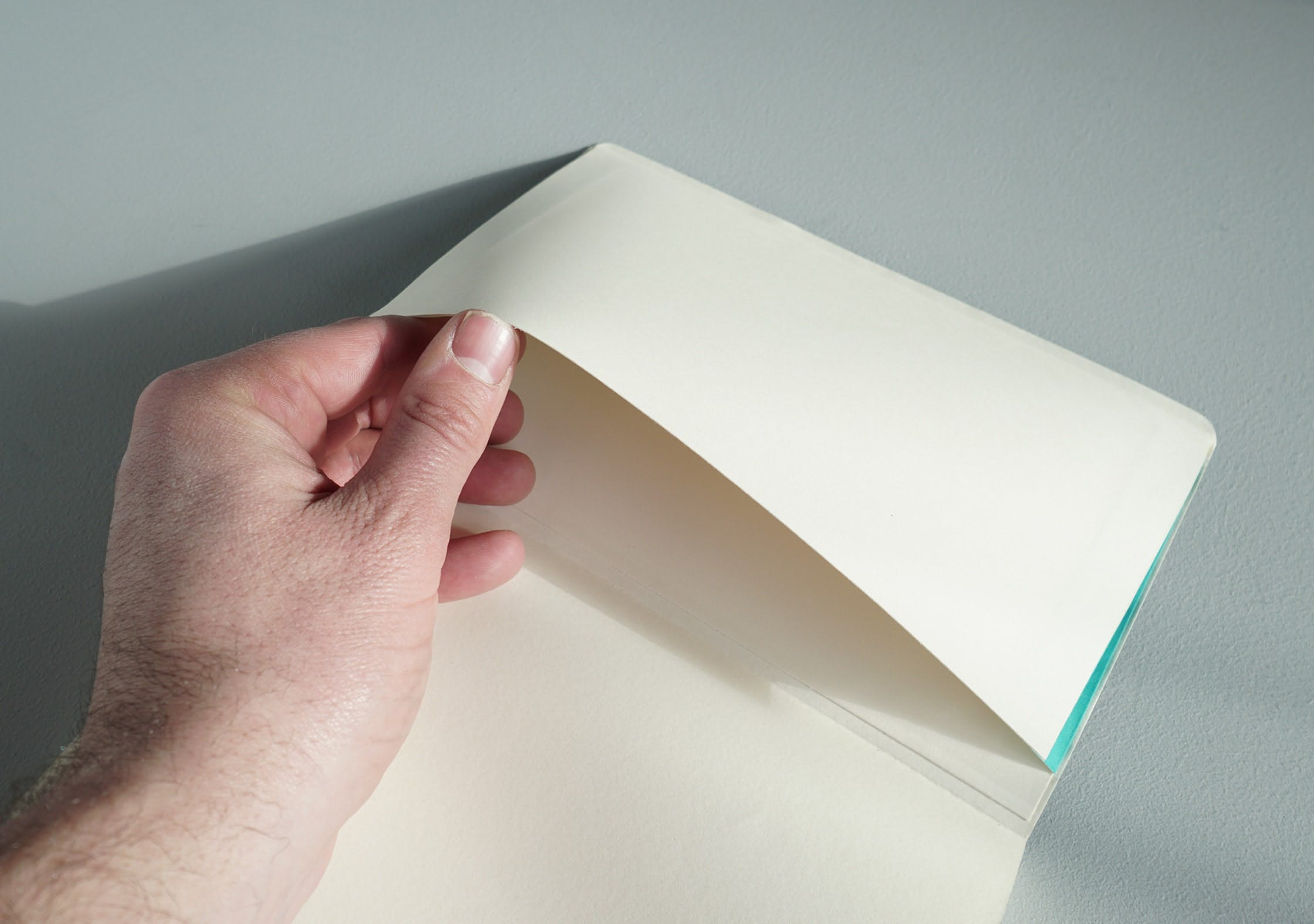 Moleskine Large Dot Grid Soft Cover Notebook Back Pocket