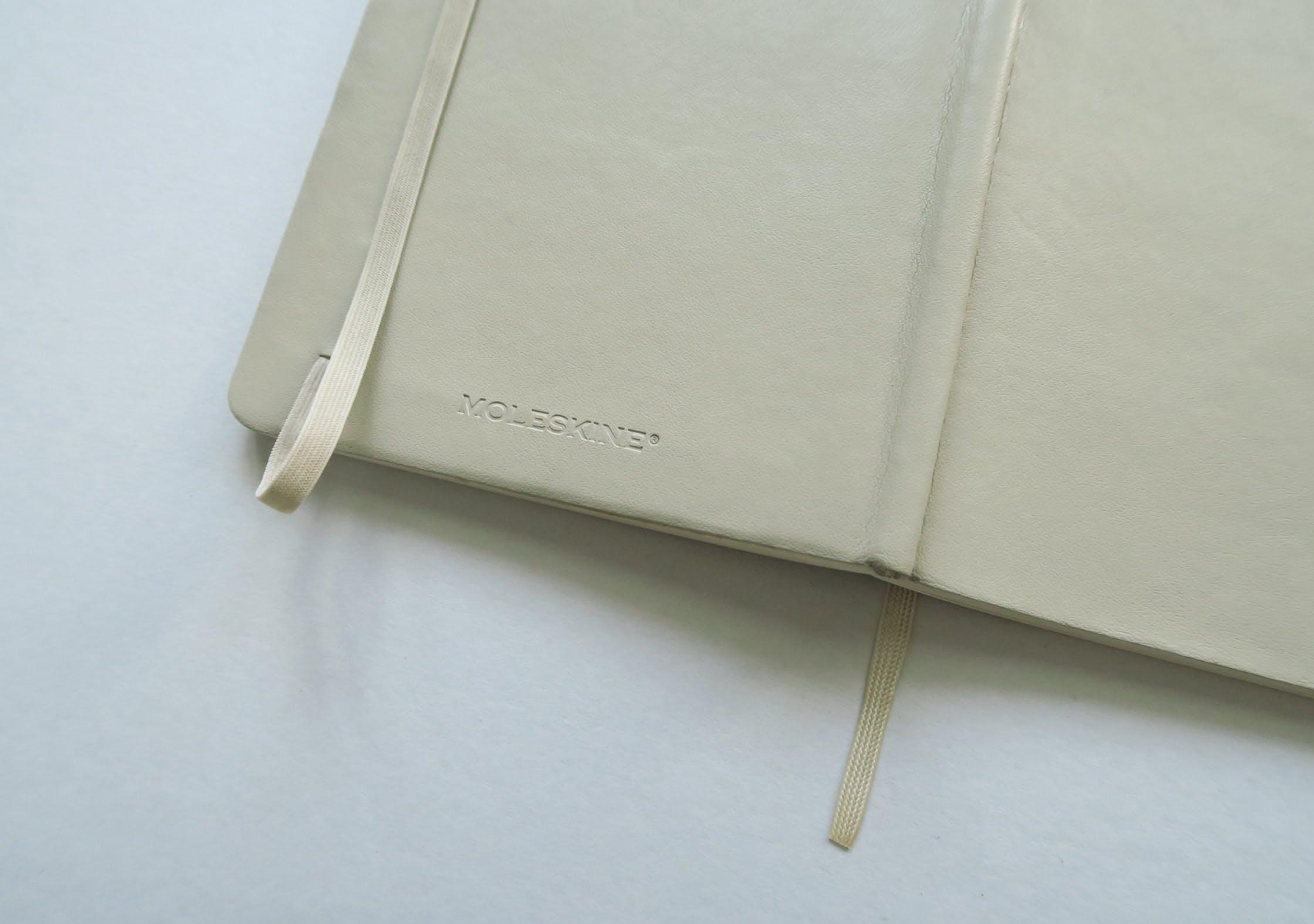 Moleskine Large Dot Grid Soft Cover Notebook Back Cover