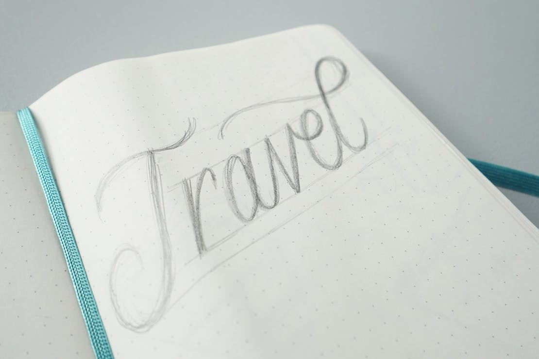 Moleskine Large Dot Grid Soft Cover Notebook Usage