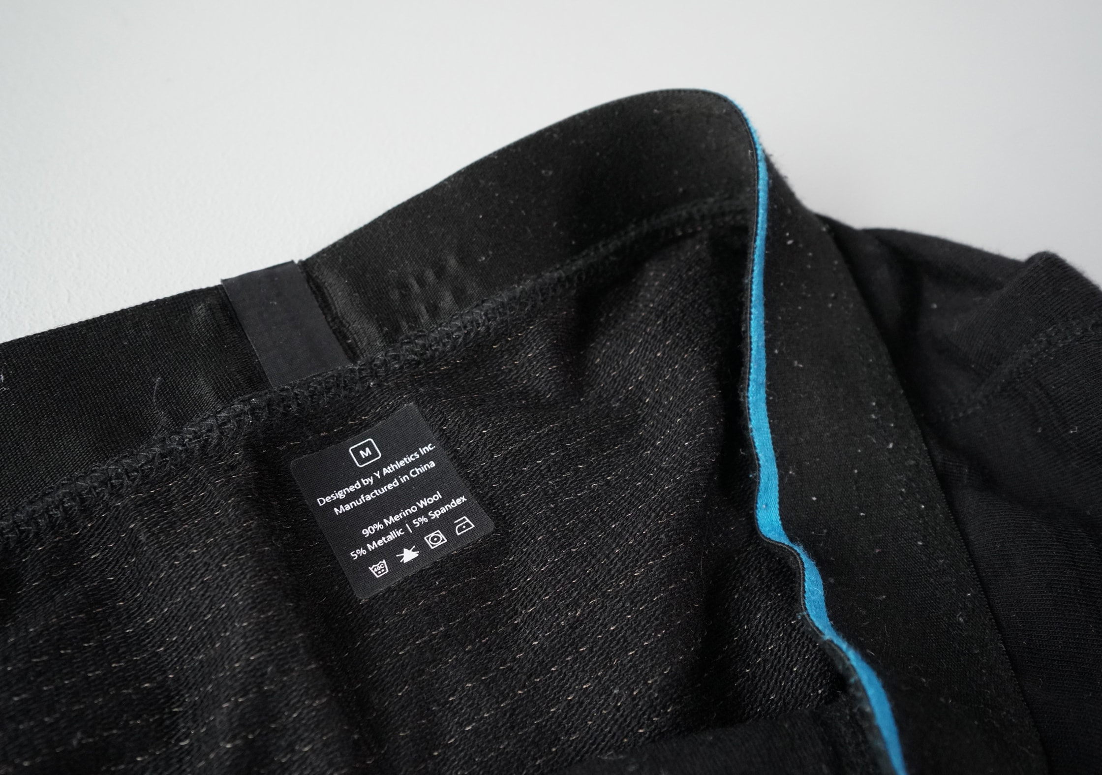 Y Athletics Merino Wool Boxer Brief Metallic Lining Tech