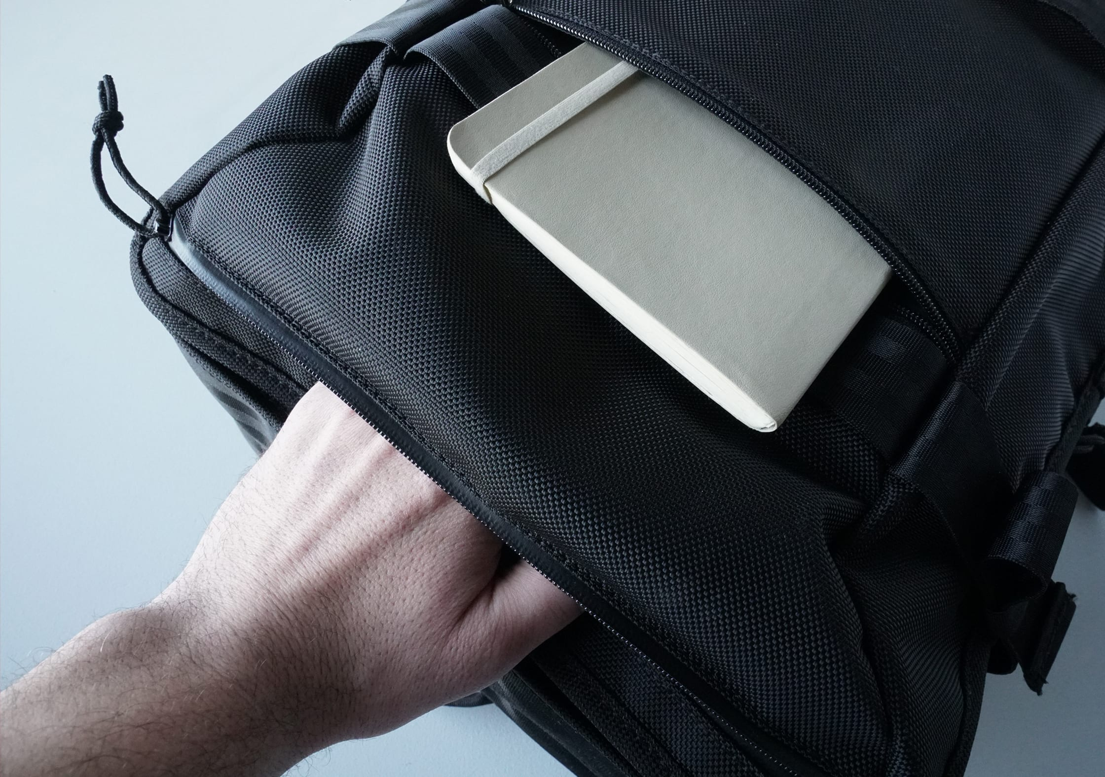 Chrome Macheto Travel Backpack Front Pockets