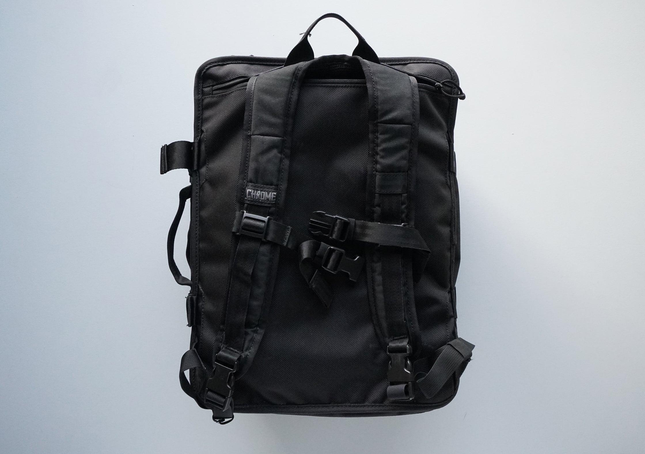 Chrome Macheto Travel Backpack Harness