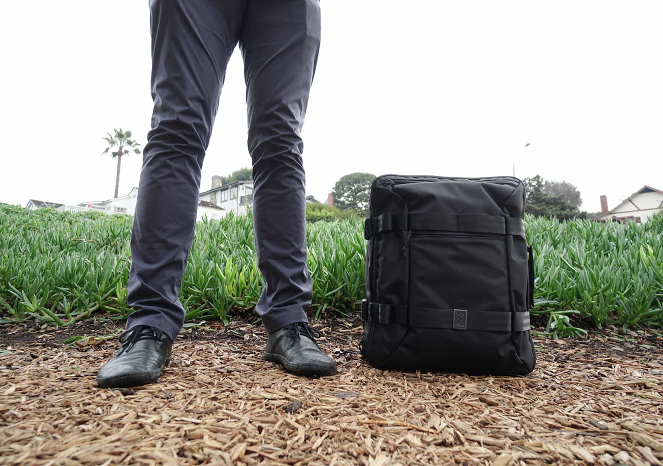 Chrome Macheto Travel Backpack Usage