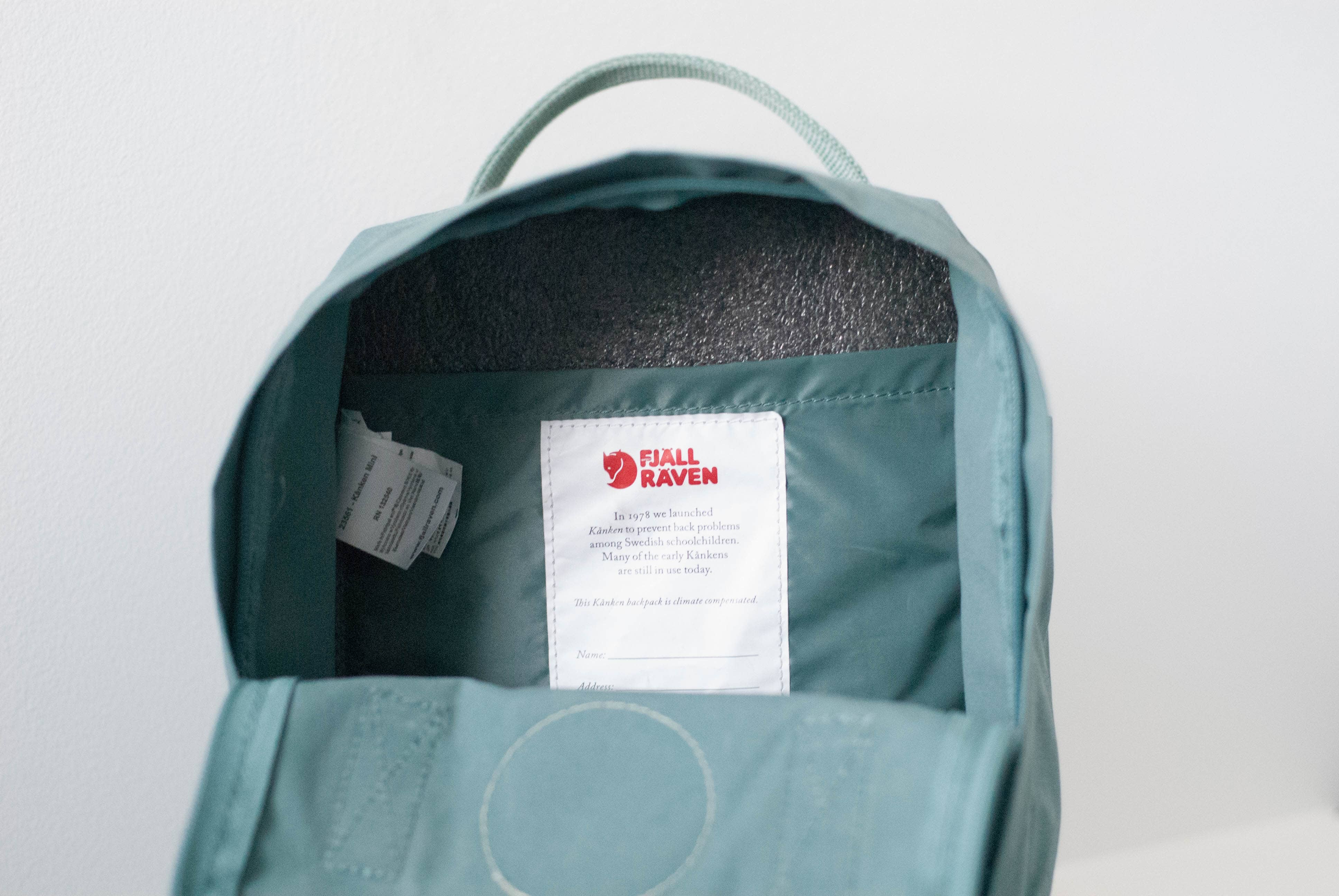 Fjallraven Kanken Mini Foam Liner