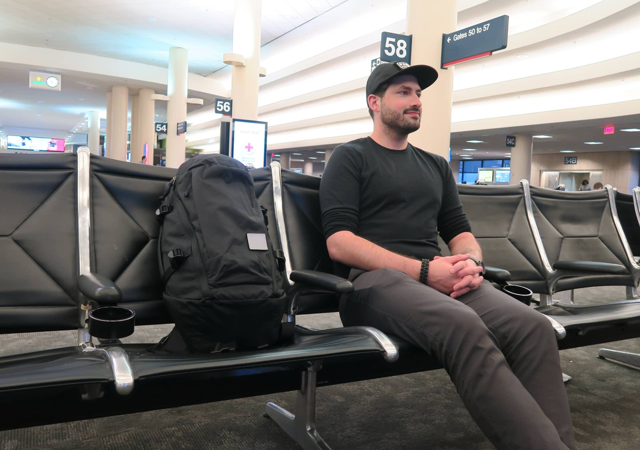 EVERGOODS MPL30 at the Airport With Tom