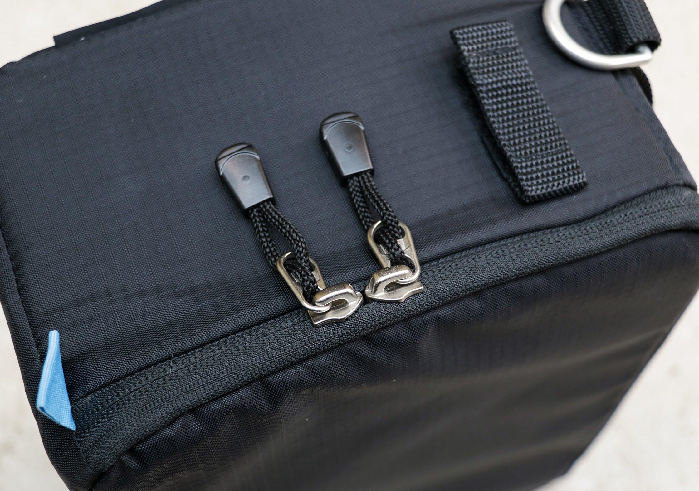 F-Stop ICU YKK Zips and Velcro Tab