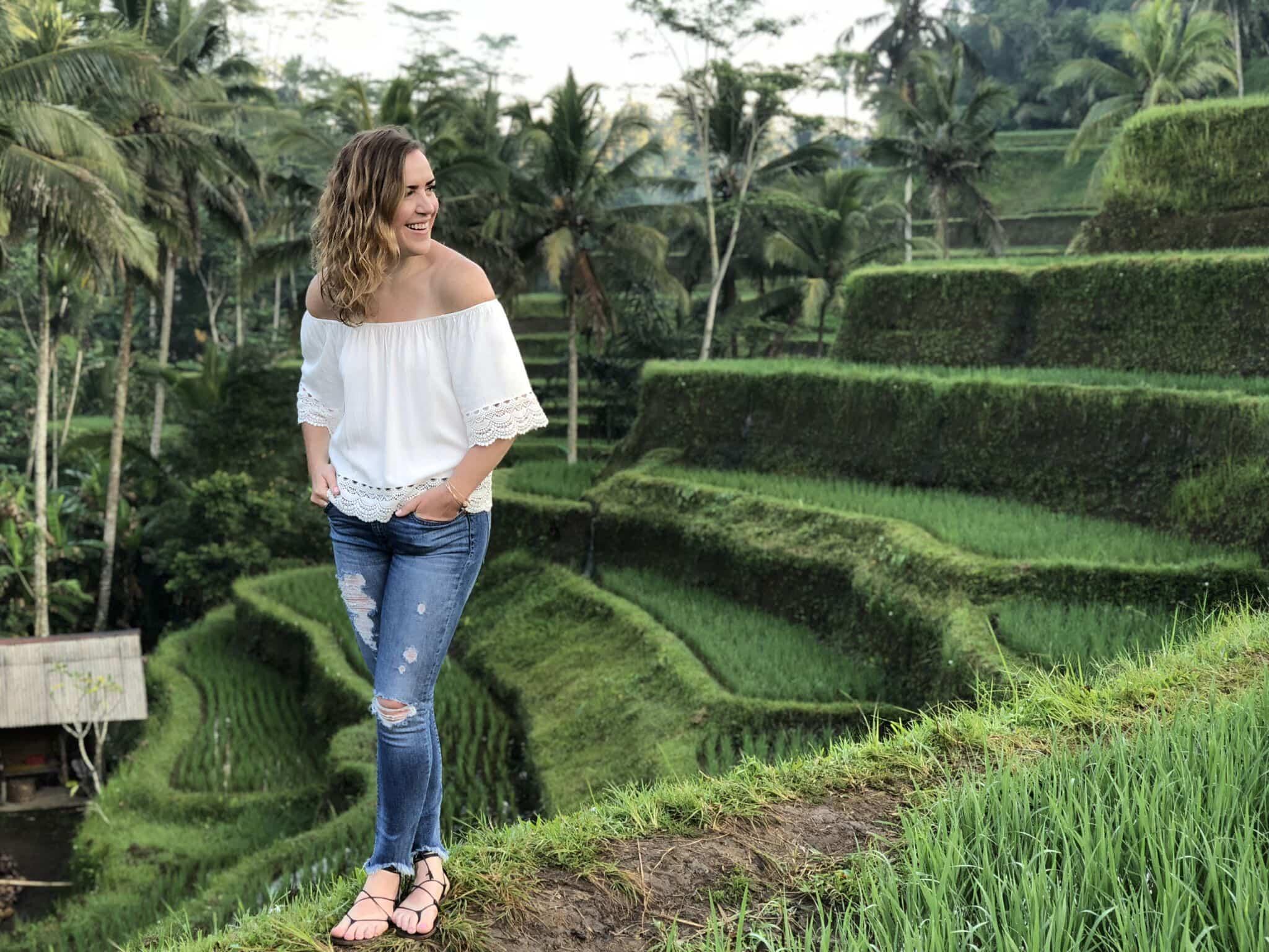 Laura Ivanova in Bali
