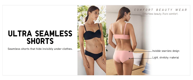 Uniqlo Ultra Seamless Shorts Website