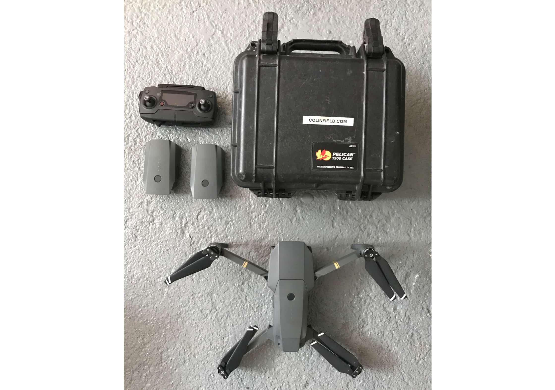 Colin Field's DJI Mavic Drone